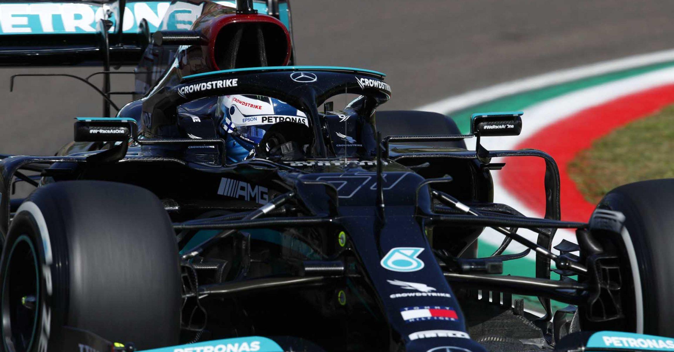 2021 Emilia Romagna Grand Prix, Friday - LAT Images Valtteri Bottas Mercedes