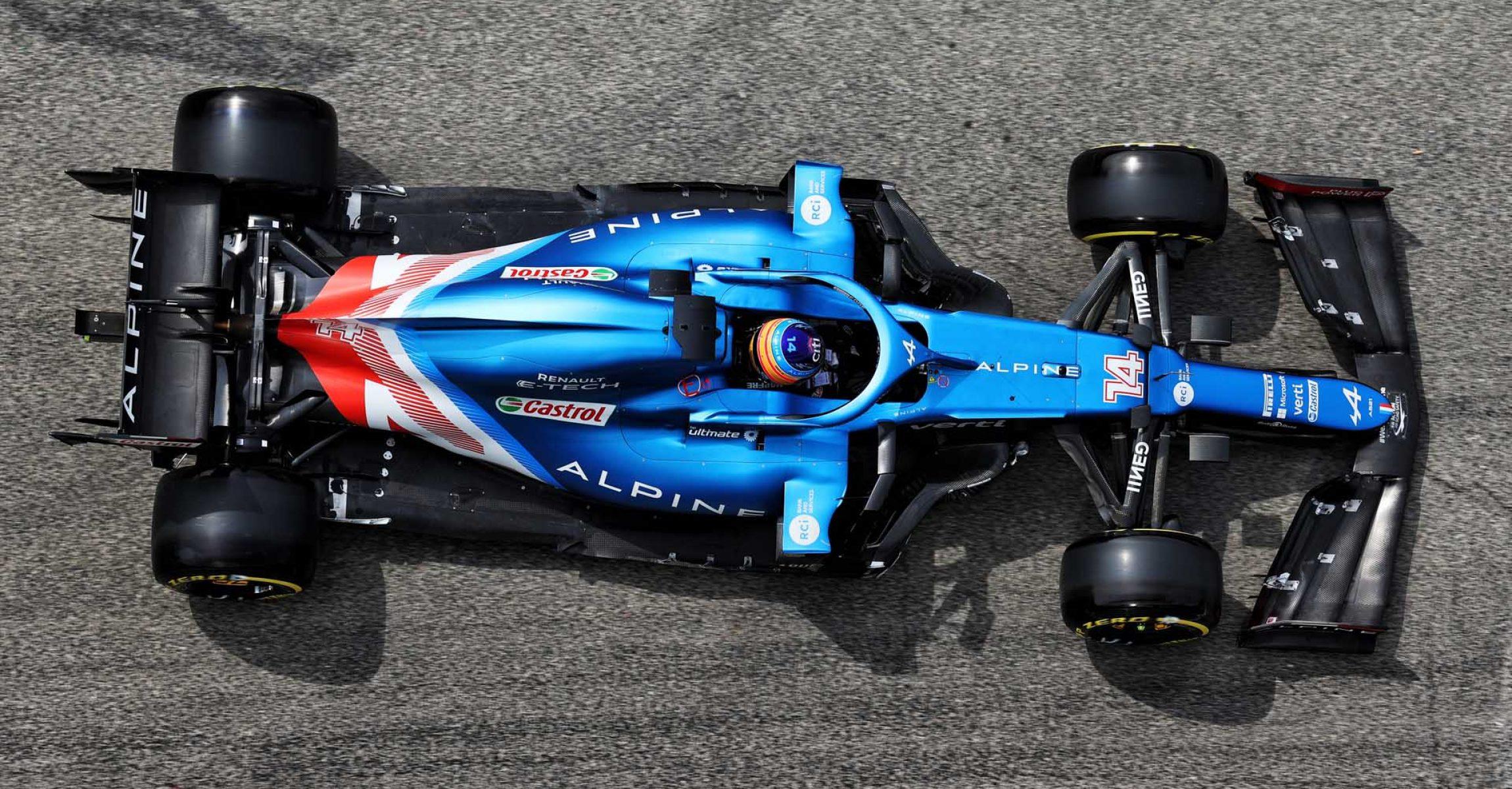 Fernando Alonso (ESP) Alpine F1 Team A521. Emilia Romagna Grand Prix, Saturday 17th April 2021. Imola, Italy.