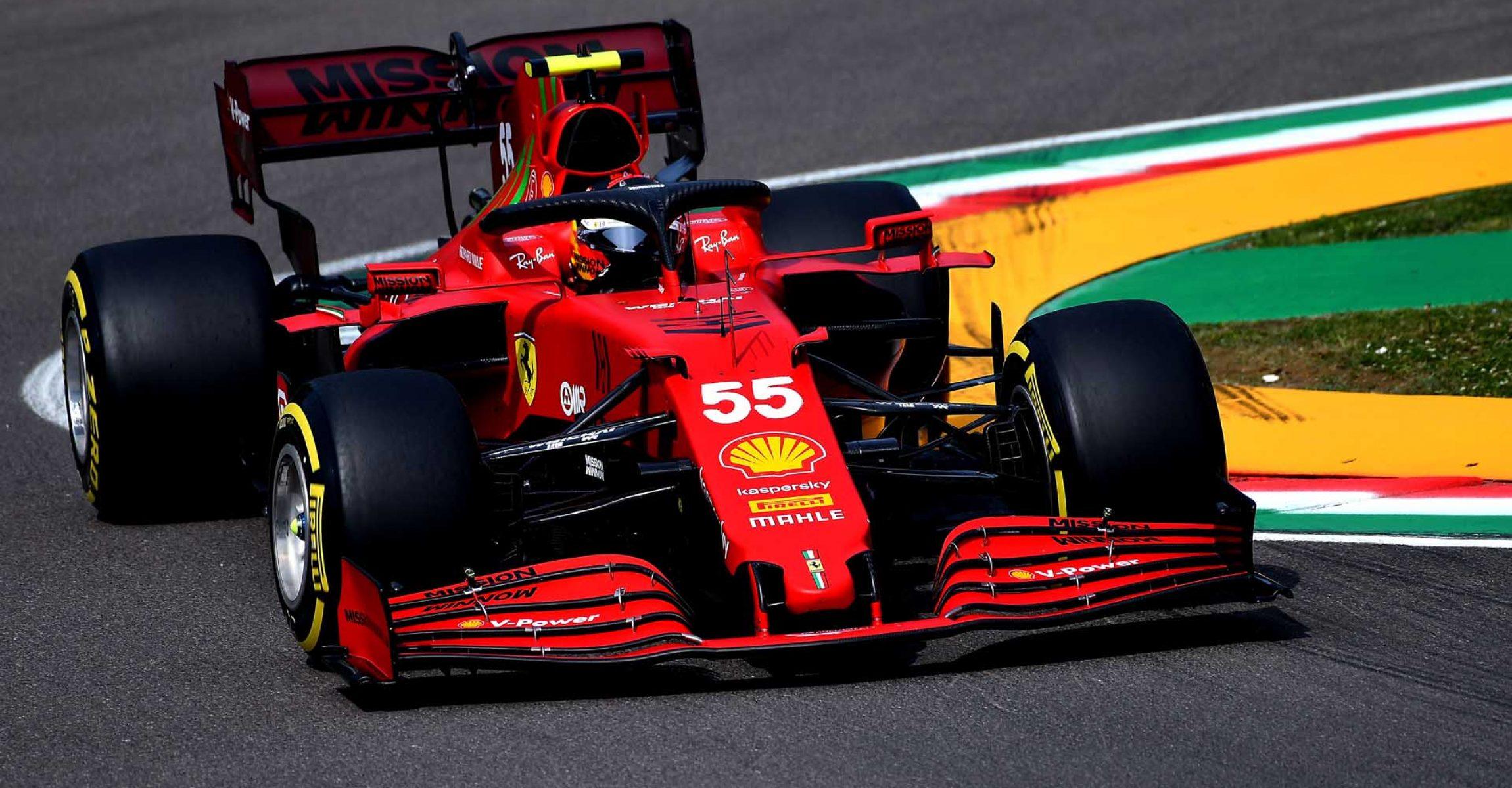 GP DELL'EMILIA ROMAGNA  F1/2021 - SABATO 17/04/2021  credit: @Scuderia Ferrari Press Office Carlos Sainz
