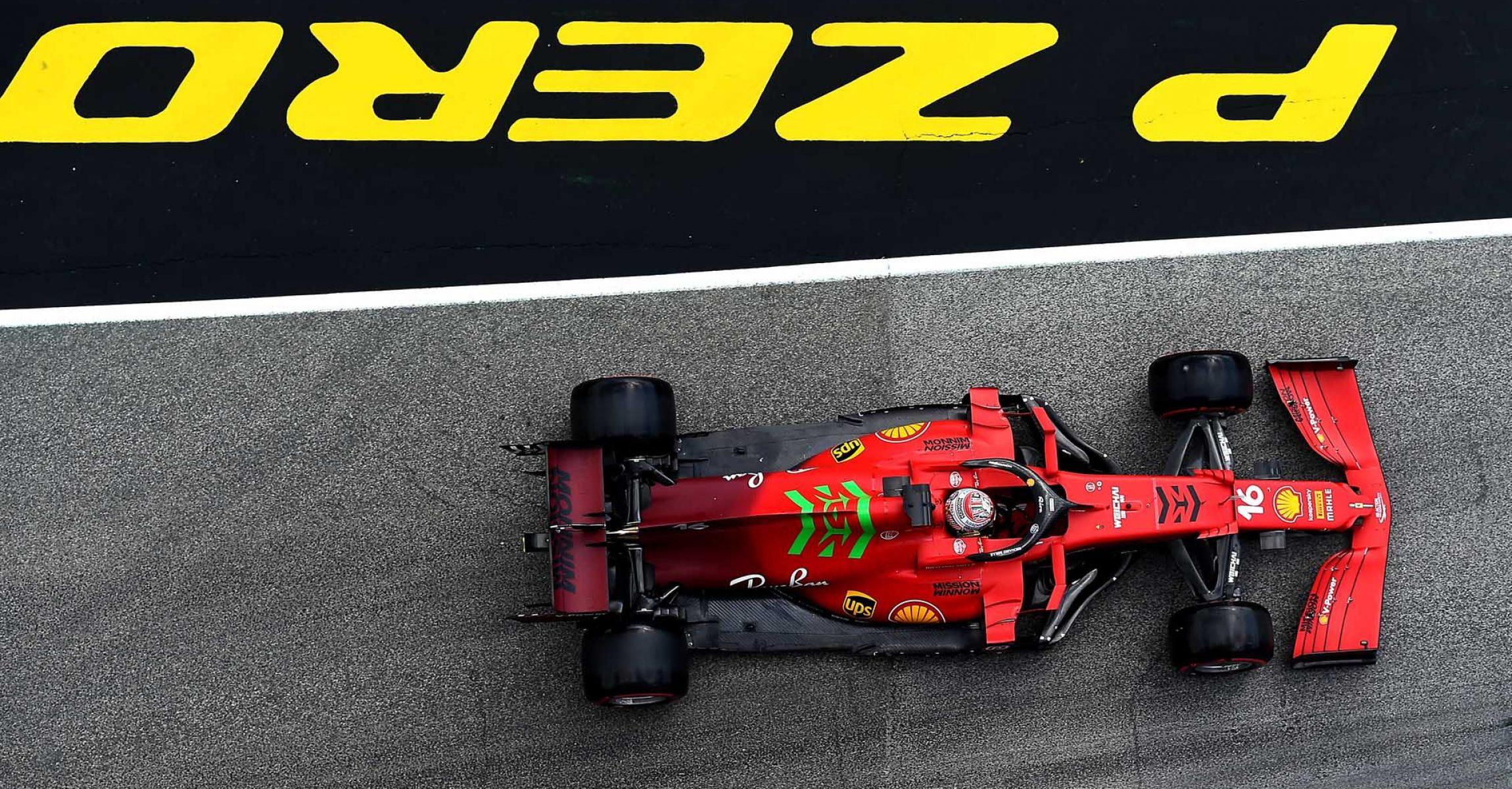 GP DELL'EMILIA ROMAGNA  F1/2021 - SABATO 17/04/2021  credit: @Scuderia Ferrari Press Office Charles Leclerc Ferrari