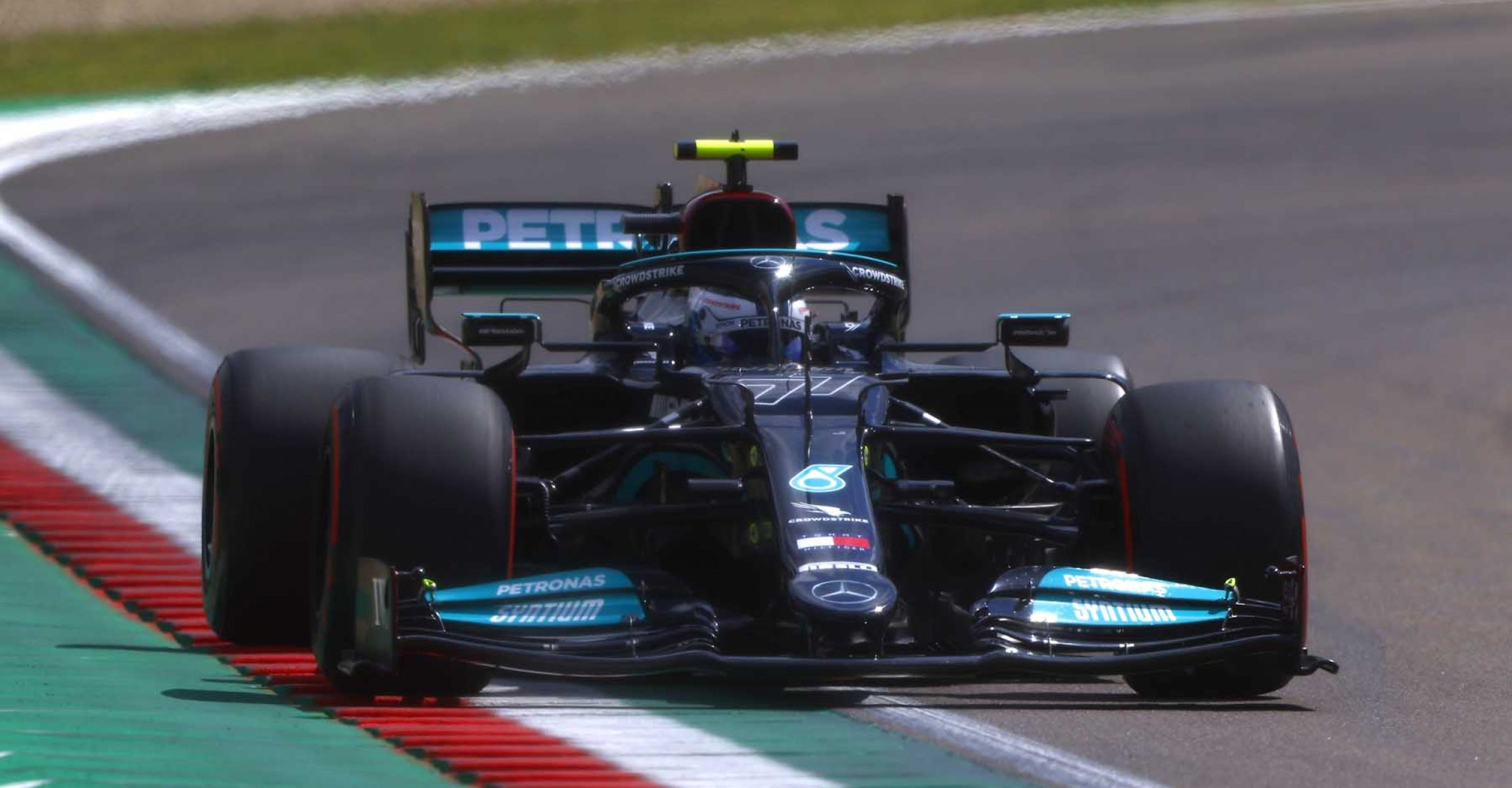 2021 Emilia Romagna Grand Prix, Saturday - LAT Images Valtteri Bottas Mercedes