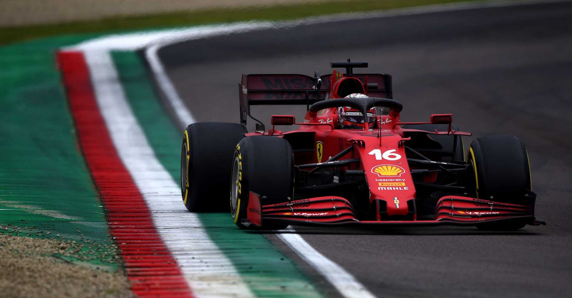 GP DELL'EMILIA ROMAGNA  F1/2021 - DOMENICA 18/04/2021 credit: @Scuderia Ferrari Press Office Charles Leclerc