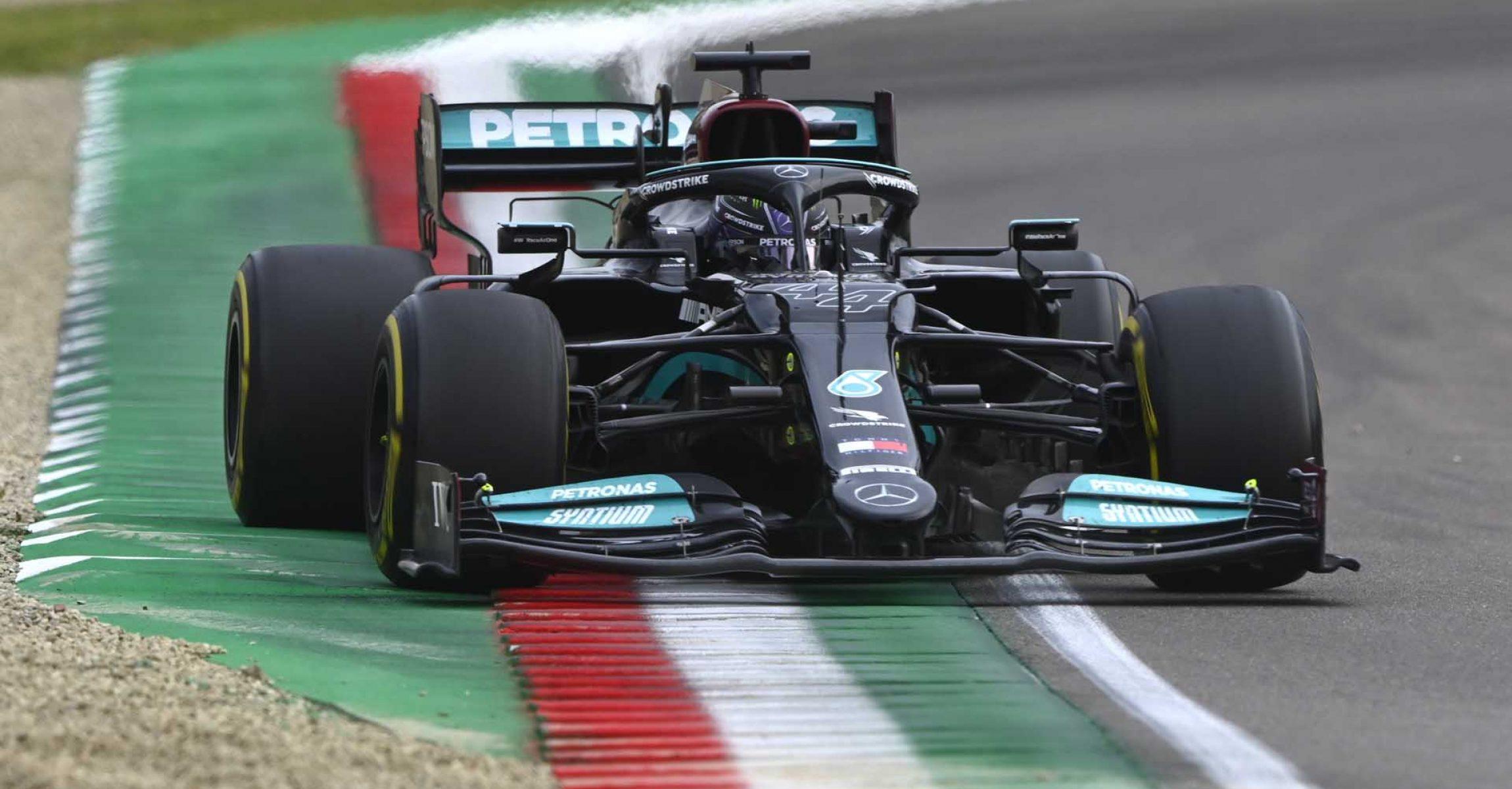 2021 Emilia Romagna Grand Prix, Sunday - LAT Images Lewis Hamilton Mercedes