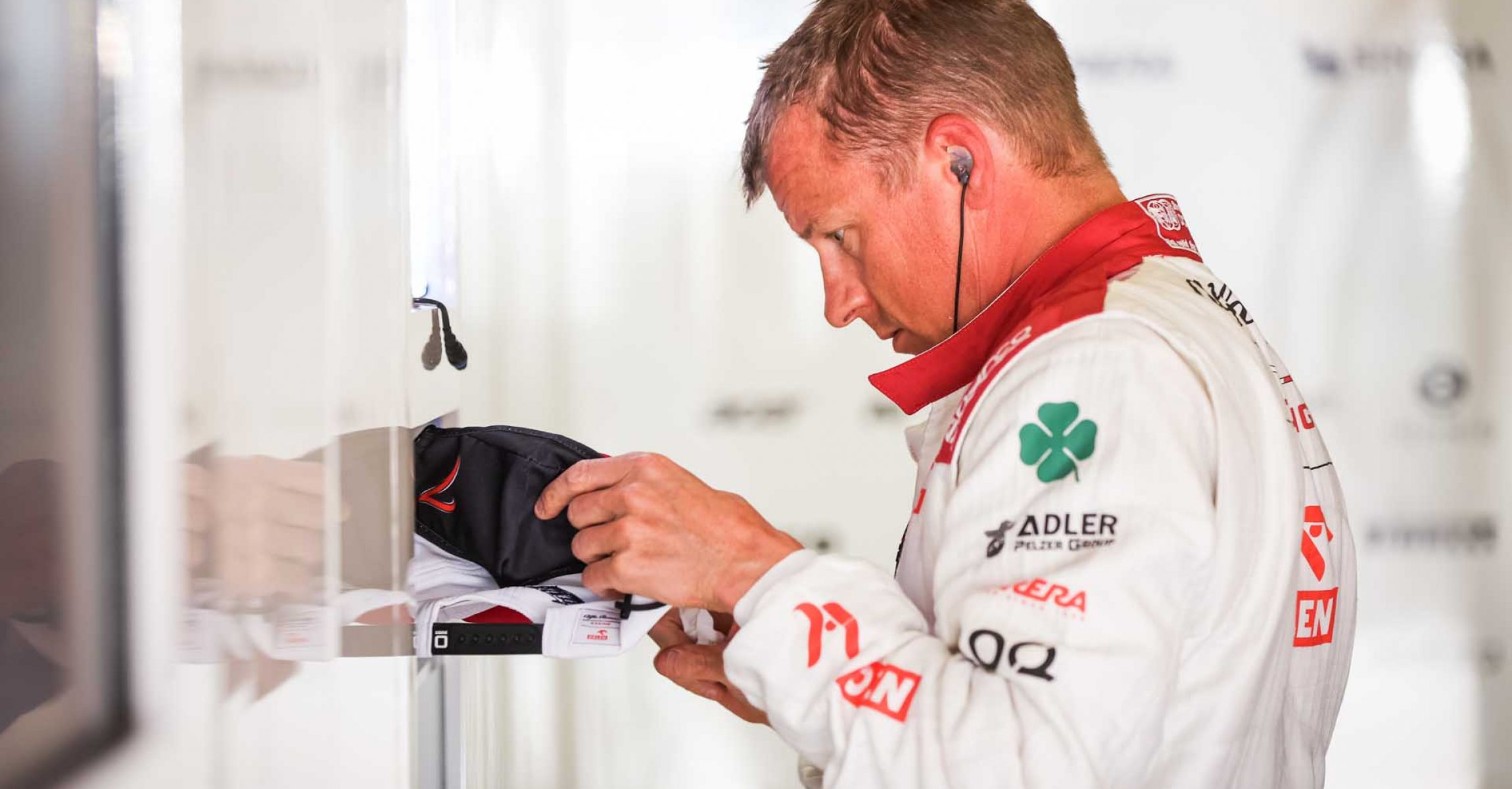 RAIKKONEN Kimi Räikkönen (fin), Alfa Romeo Racing ORLEN C41, portrait during the Formula 1 Heineken Grande Prémio de Portugal 2021 from April 30 to May 2, 2021 on the Algarve International Circuit, in Portimao, Portugal - Photo Antonin Vincent / DPPI