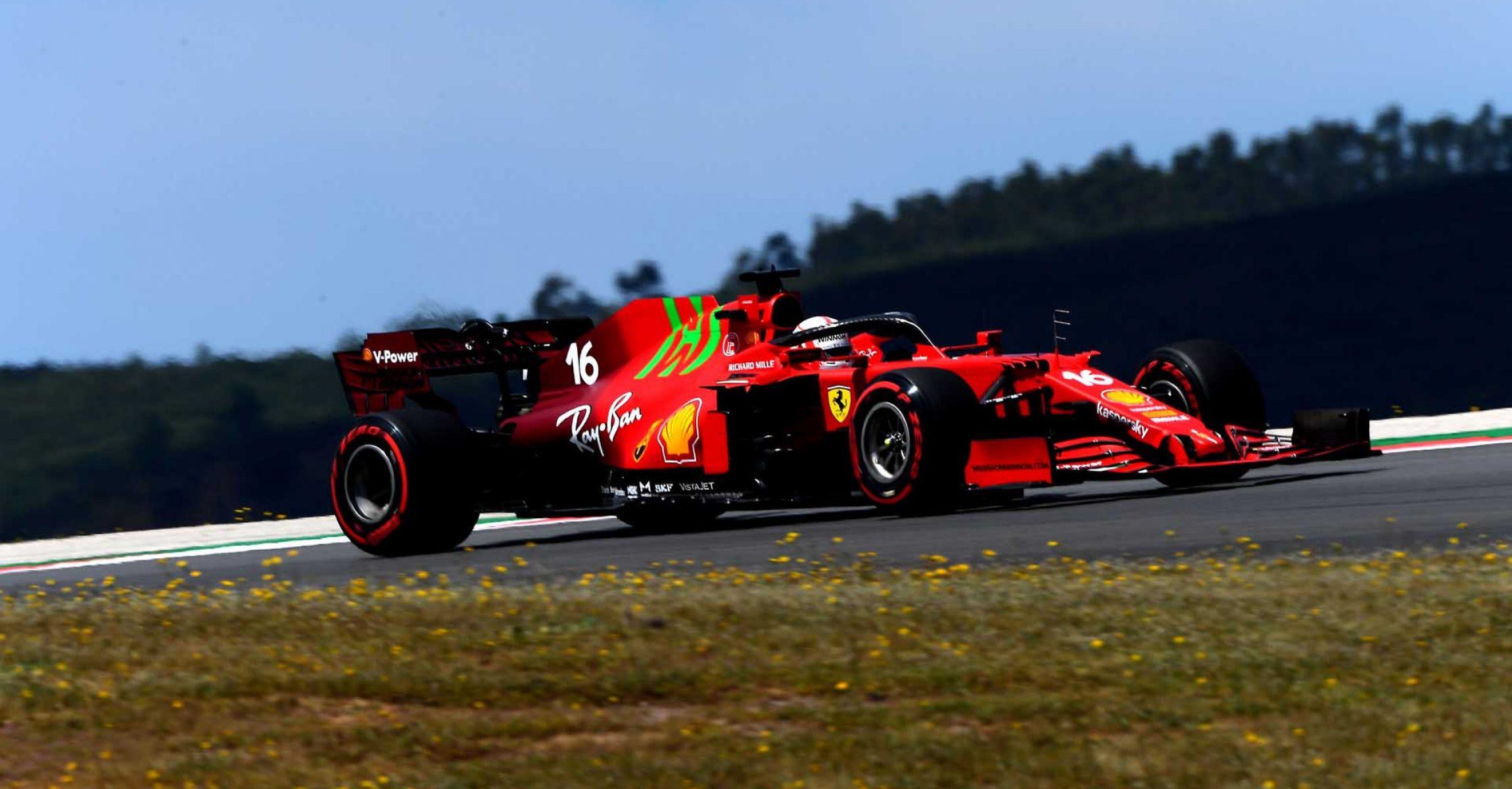 GP PORTOGALLO F1/2021 - VENERDI 30/04/2021   credit: @Scuderia Ferrari Press Office Charles Leclerc