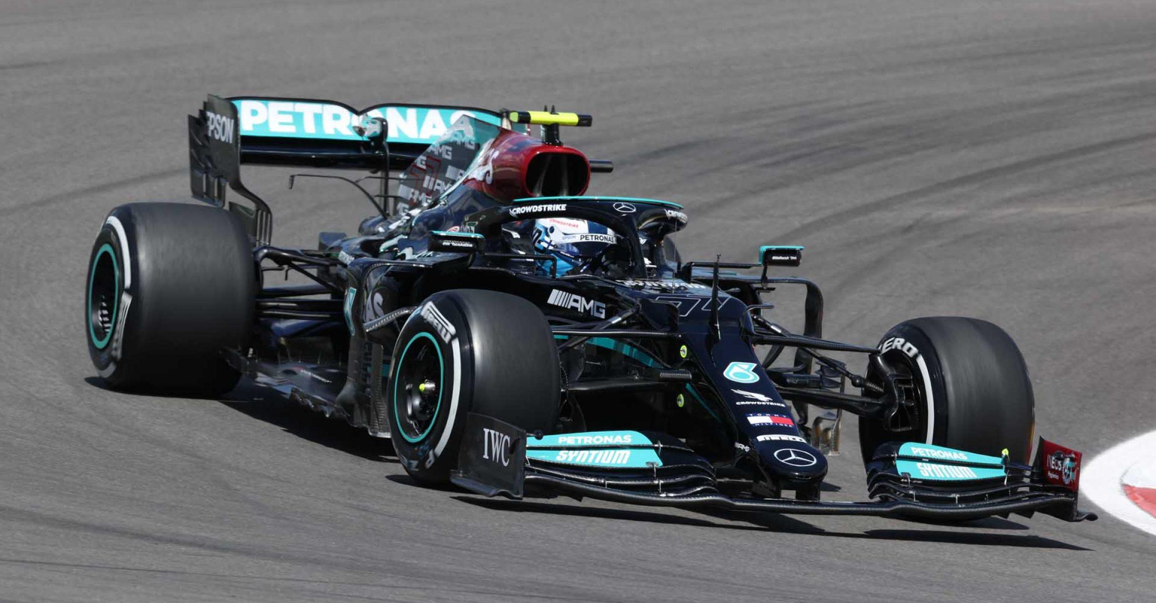 2021 Portuguese Grand Prix, Friday - Wolfgang Wilhelm Valtteri Bottas Mercedes