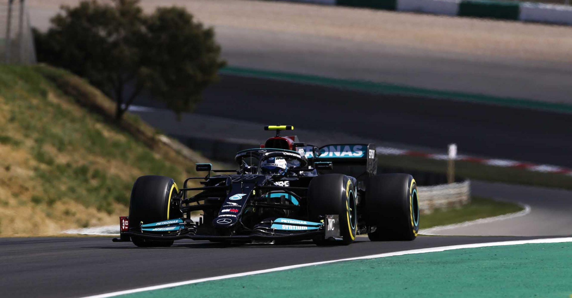 2021 Portuguese Grand Prix, Saturday - Jiri Krenek Valtteri Bottas Mercedes