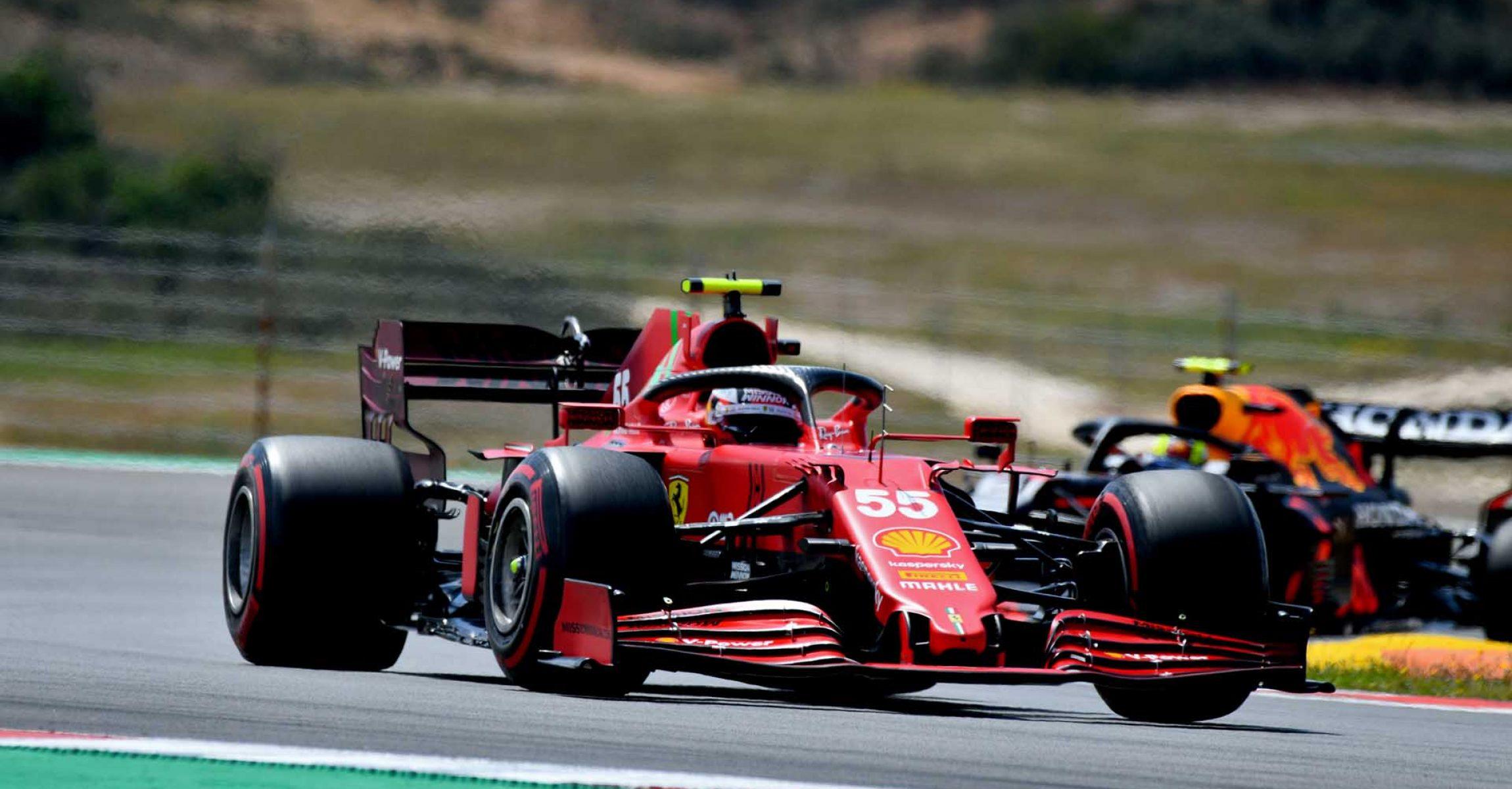 GP PORTOGALLO F1/2021 - DOMENICA 02/05/2021   credit: @Scuderia Ferrari Press Office Carlos Sainz
