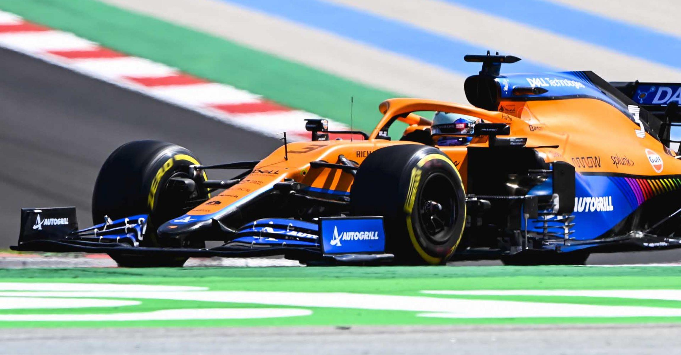 Daniel Ricciardo, McLaren MCL35M side on
