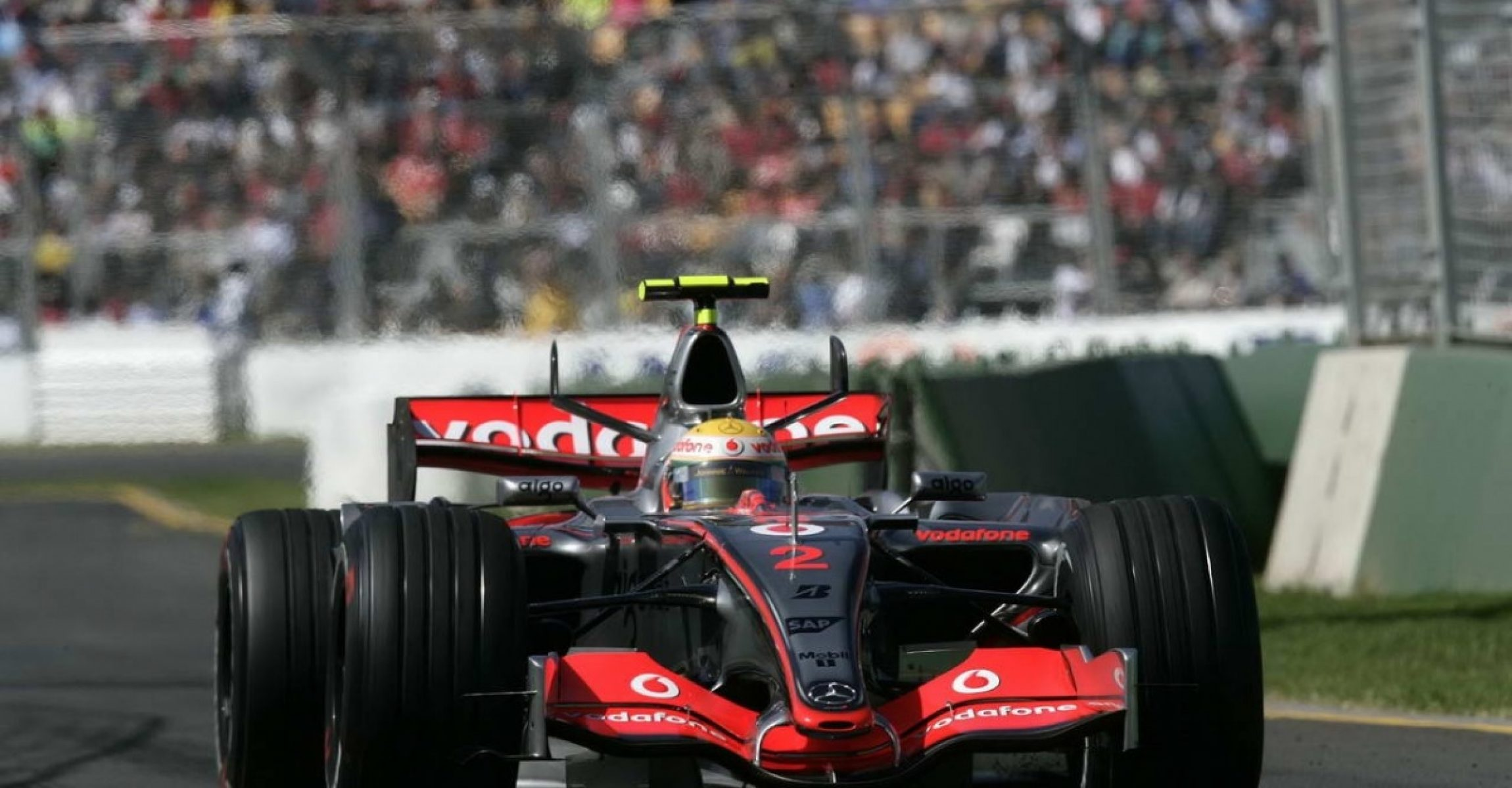 Lewis Hamilton, McLaren, 2007, Australian GP