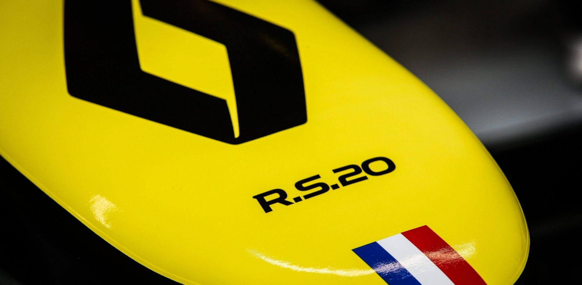 Renault RS20 logo