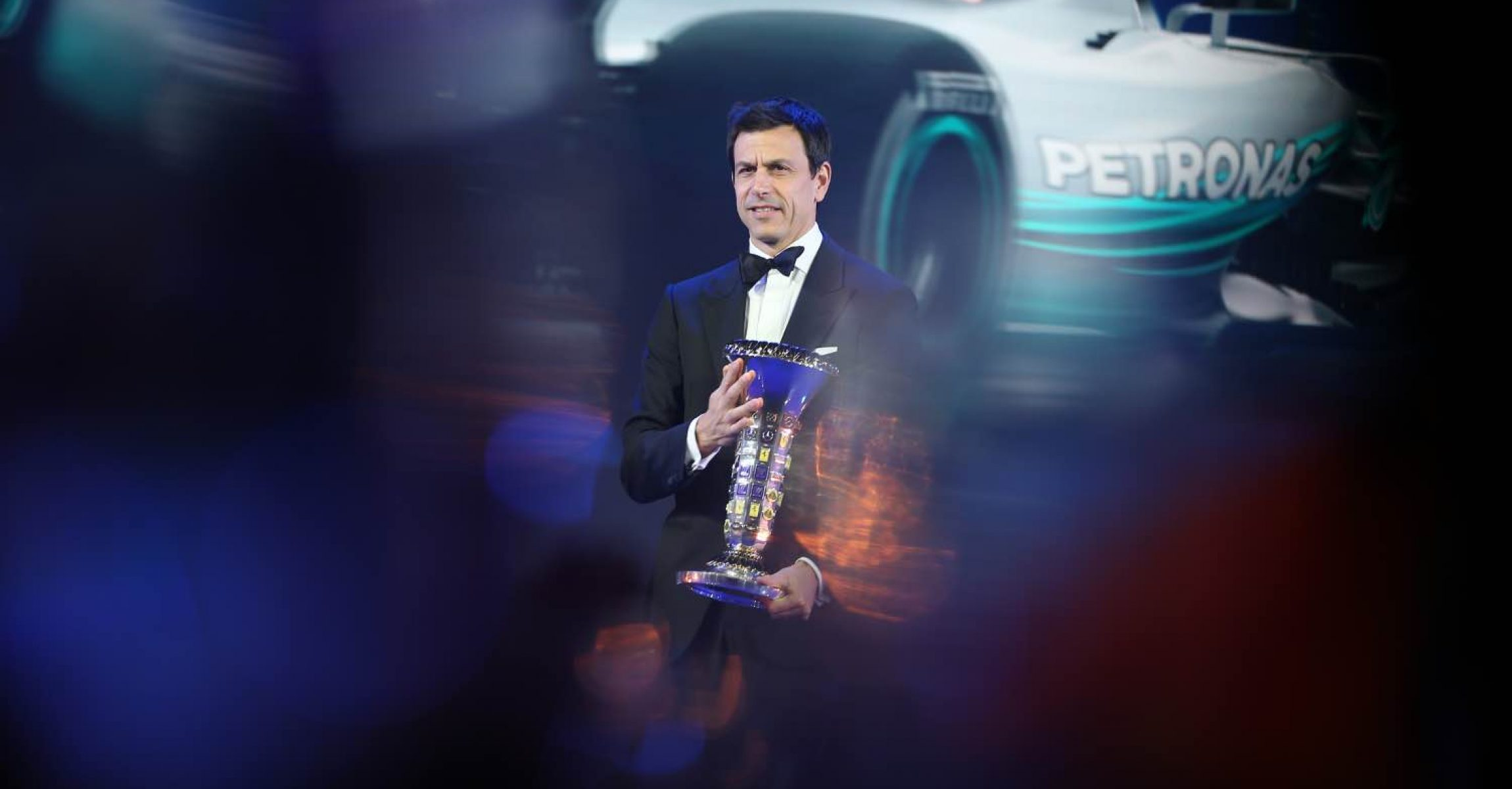 Toto Wolff Mercedes FIA Prize Giving Ceremony 2018