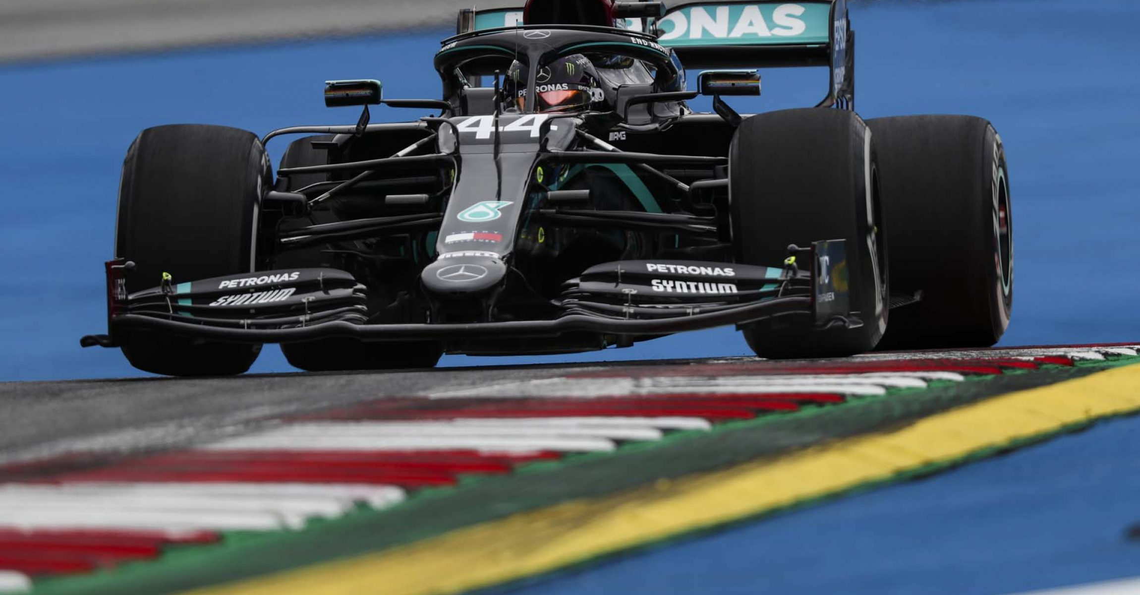 JULY 03: Lewis Hamilton, Mercedes F1 W11 EQ Performance during the Austrian GP on Friday July 03, 2020. (Photo by Charles Coates / LAT Images)