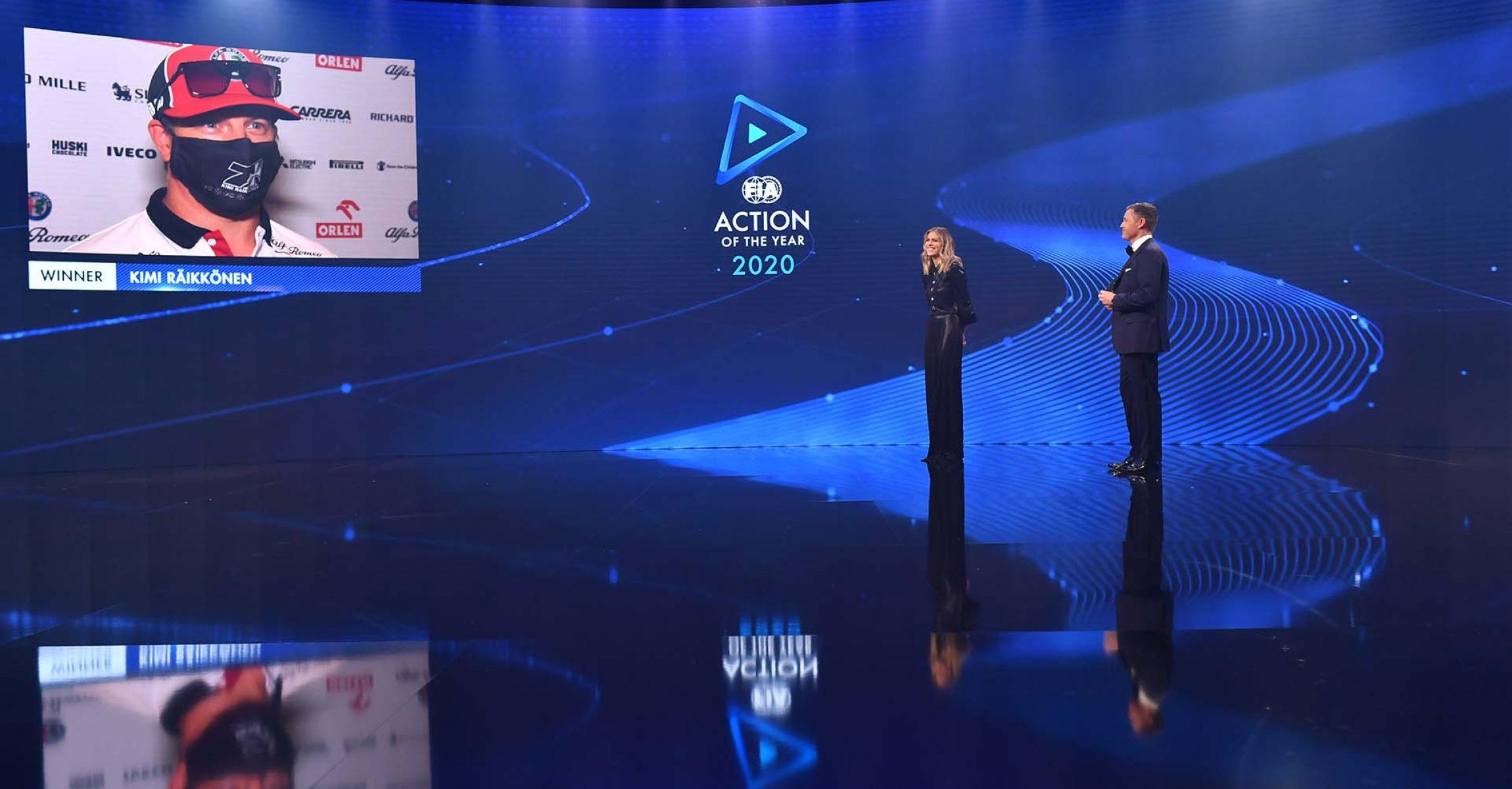 Kimi Räikkönen, FIA Prize Giving Ceremony 2020