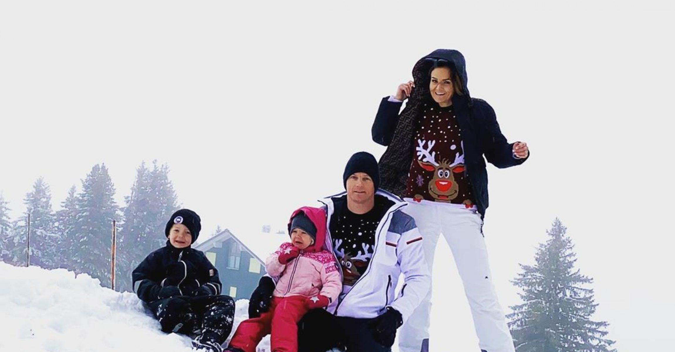Kimi Räikkönen Minttu Räikkönen Robin Räikkönen Rianna Räikkönen family
