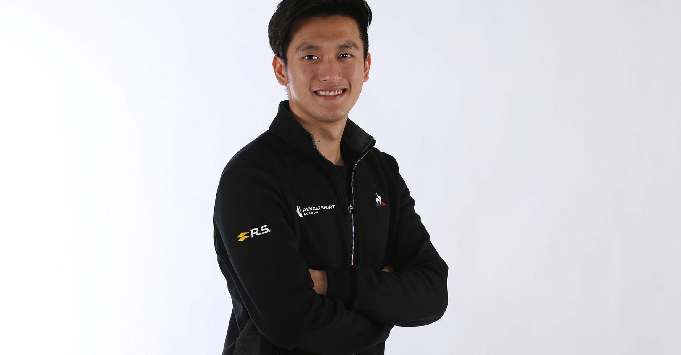 Guanyu Zhou Renault
