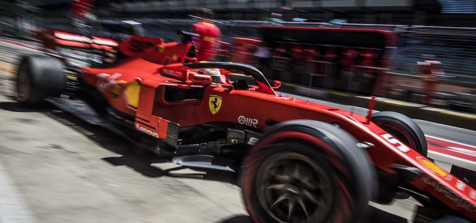 Sebastian Vettel races at the FIA Formula One World Championship 2019 in Spielberg, Austria on June 29, 2019 // Philip Platzer/Red Bull Content Pool // AP-1ZSYDWNA51W11 // Usage for editorial use only // Please go to www.redbullcontentpool.com for further information. //