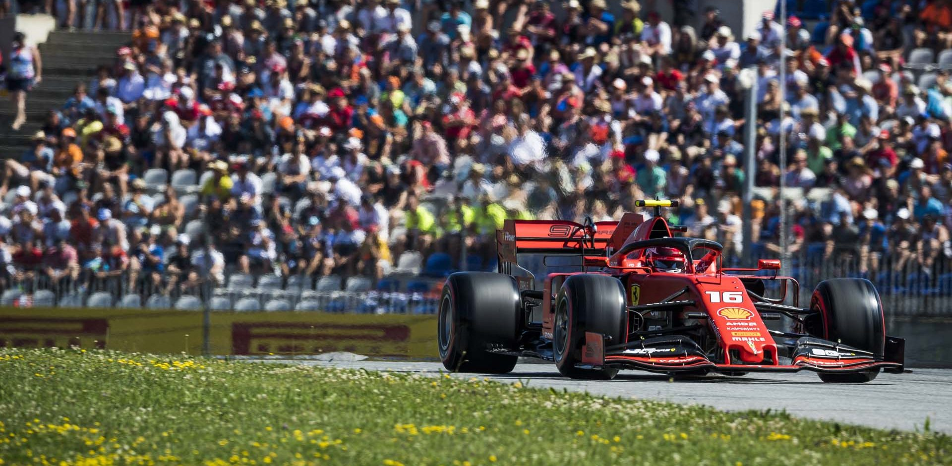 Charles Leclerc races at the FIA Formula One World Championship 2019 in Spielberg, Austria on June 29, 2019 // Philip Platzer/Red Bull Content Pool // AP-1ZSYE2ZQ51W11 // Usage for editorial use only // Please go to www.redbullcontentpool.com for further information. //