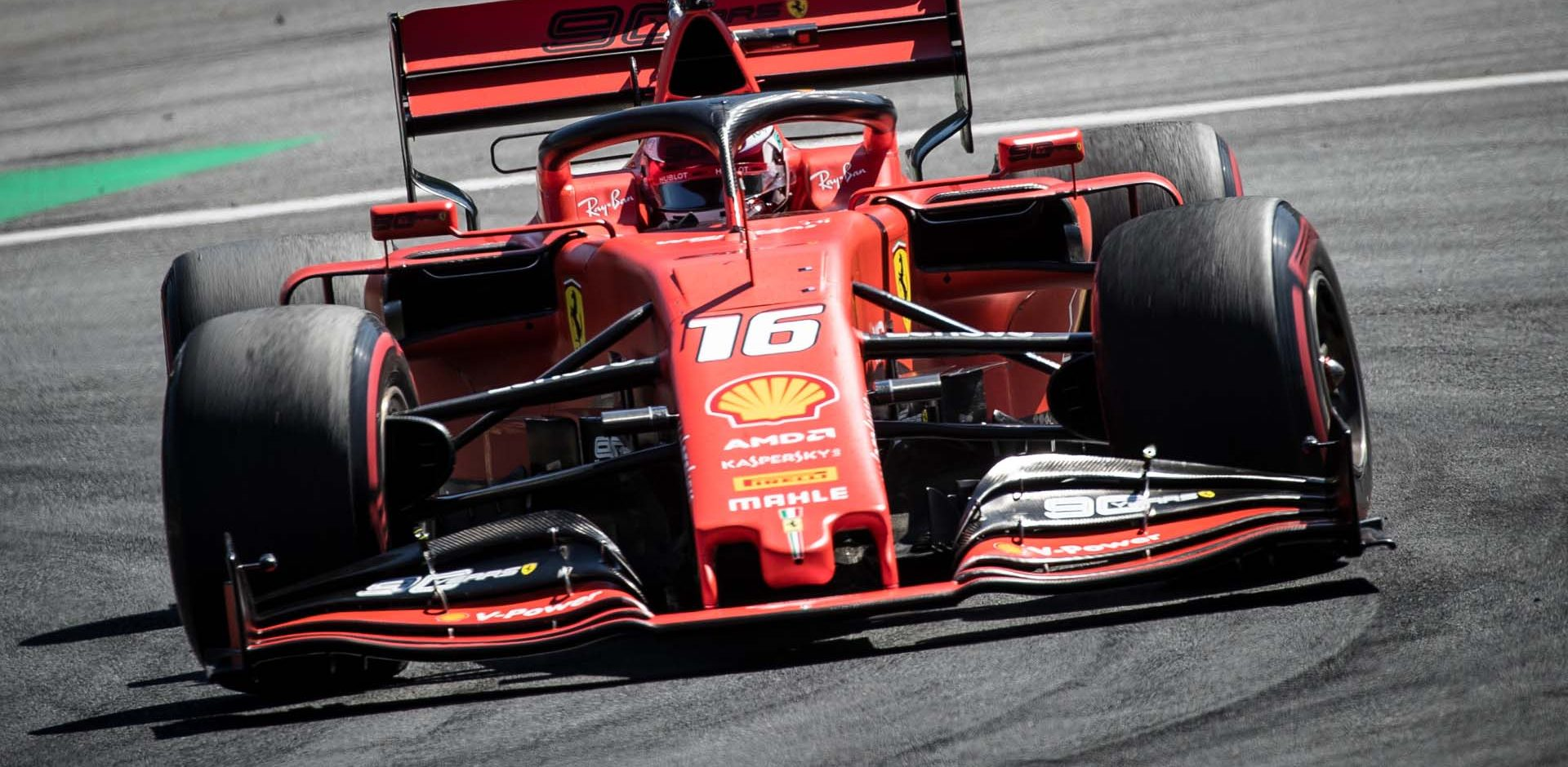 SPIELBERG,AUSTRIA,30.JUN.19 - MOTORSPORTS, FORMULA 1 - Grand Prix of Austria, Red Bull Ring. Image shows Charles Leclerc (MON/ Ferrari). Photo: GEPA pictures/ Matic Klansek // GEPA pictures/Red Bull Content Pool // AP-1ZTAZ31J51W11 // Usage for editorial use only // Please go to www.redbullcontentpool.com for further information. //