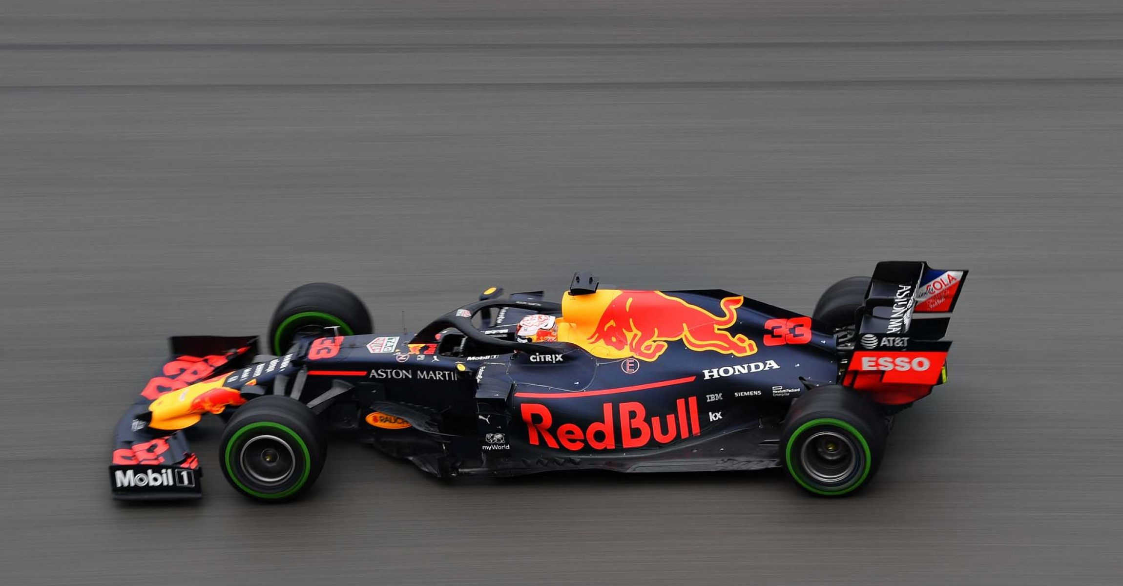 HOCKENHEIM, GERMANY - JULY 28: Max Verstappen of the Netherlands driving the (33) Aston Martin Red Bull Racing RB15 on track during the F1 Grand Prix of Germany at Hockenheimring on July 28, 2019 in Hockenheim, Germany. (Photo by Dan Mullan/Getty Images) // Getty Images / Red Bull Content Pool  // AP-2139Z92ED2511 // Usage for editorial use only // Please go to www.redbullcontentpool.com for further information. //