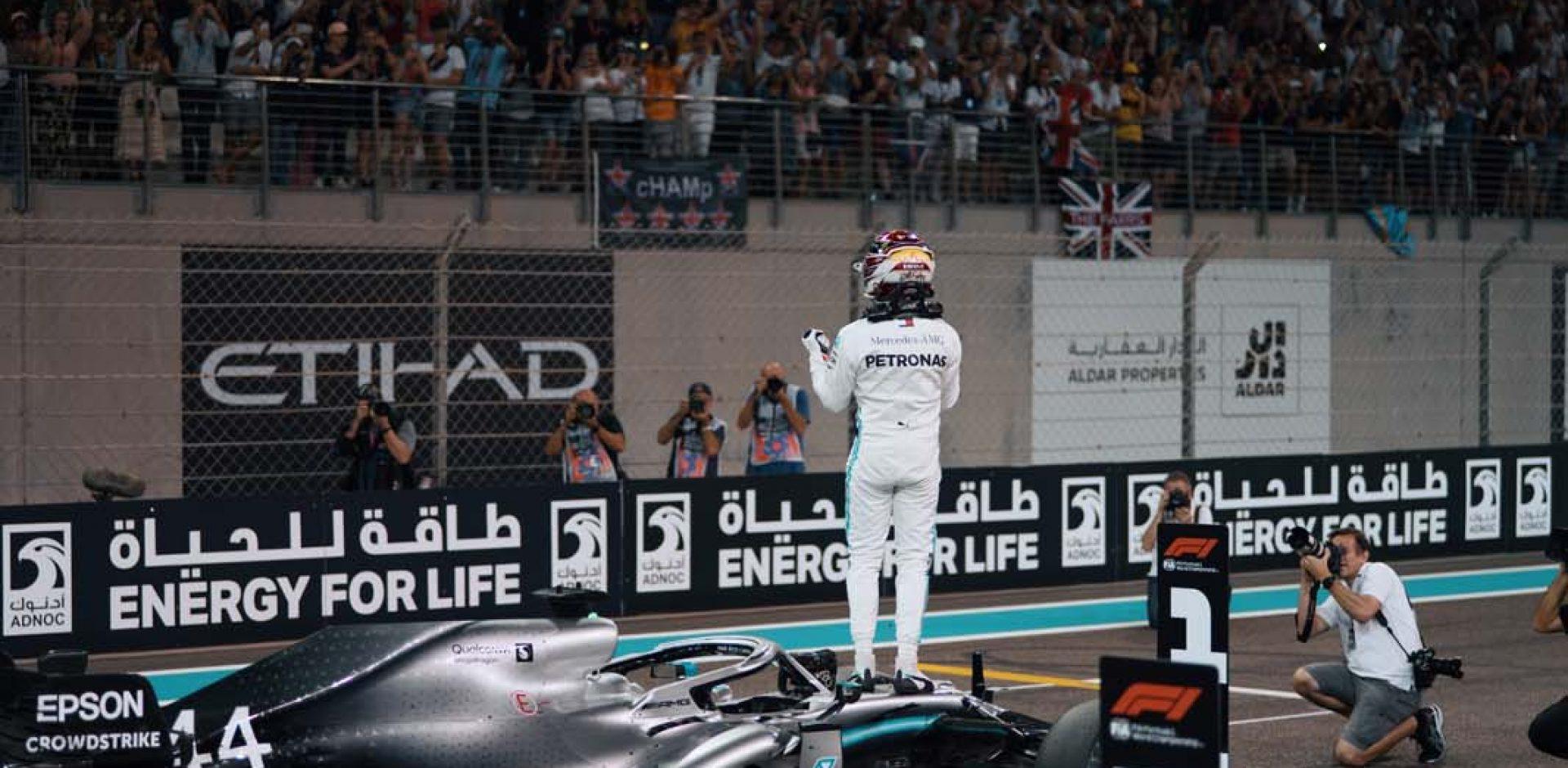 2019 Abu Dhabi Grand Prix, Saturday - Paul Ripke Lewis Hamilton Mercedes