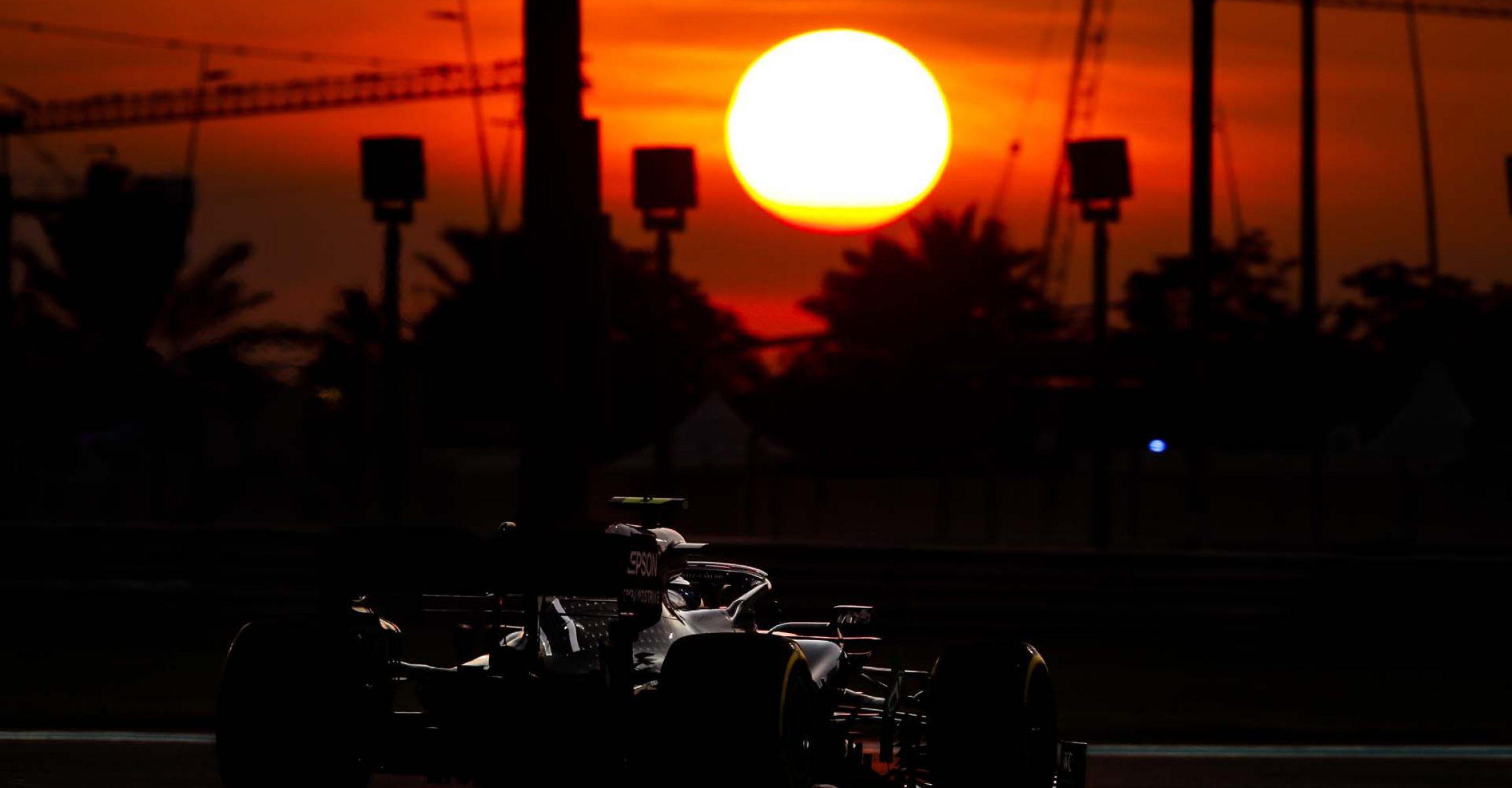 2019 Abu Dhabi Grand Prix, Saturday - Wolfgang Wilhelm Valtteri Bottas Mercedes