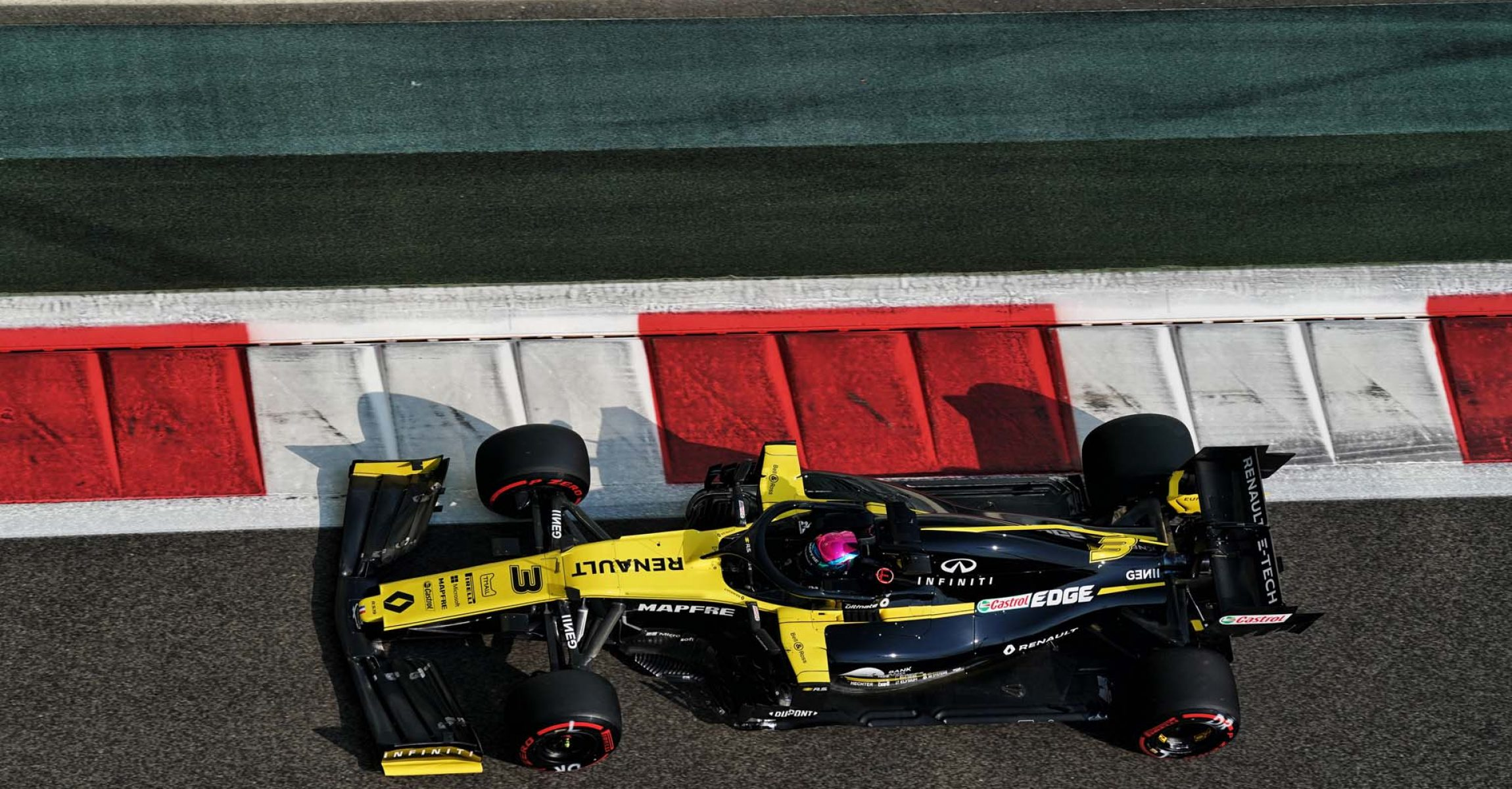Daniel Ricciardo (AUS) Renault F1 Team RS19. Abu Dhabi Grand Prix, Saturday 30th November 2019. Yas Marina Circuit, Abu Dhabi, UAE.