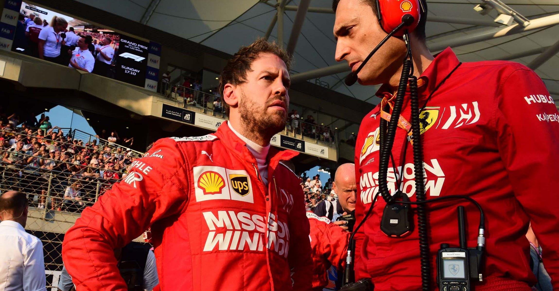 GP ABU DHABI  F1/2019 - DOMENICA 01/12/2019   credit: @Scuderia Ferrari Press Office Sebastian Vettel