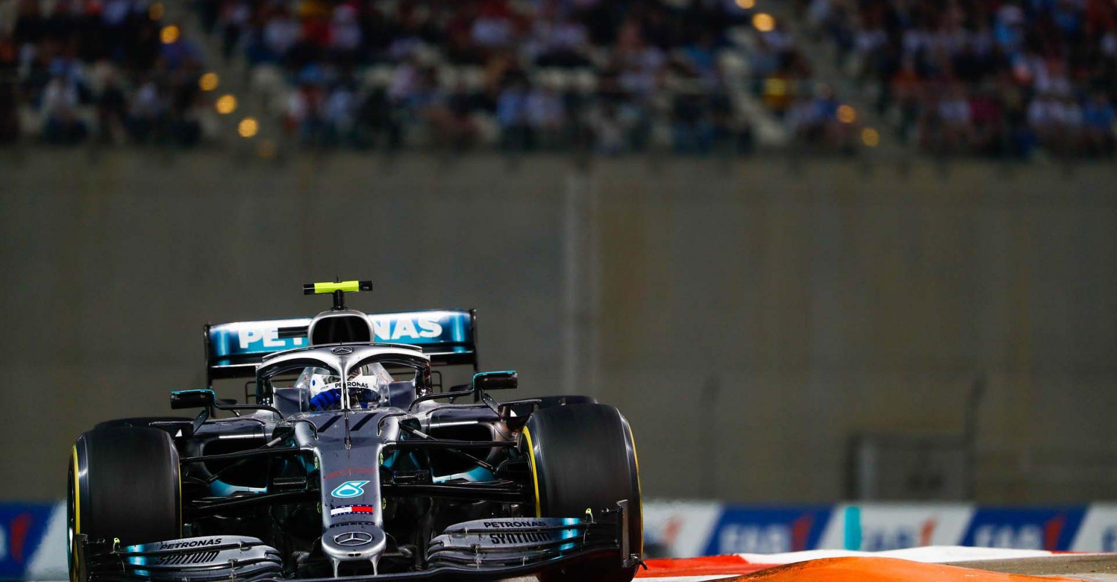 2019 Abu Dhabi Grand Prix, Sunday - LAT Images Valtteri Bottas Mercedes