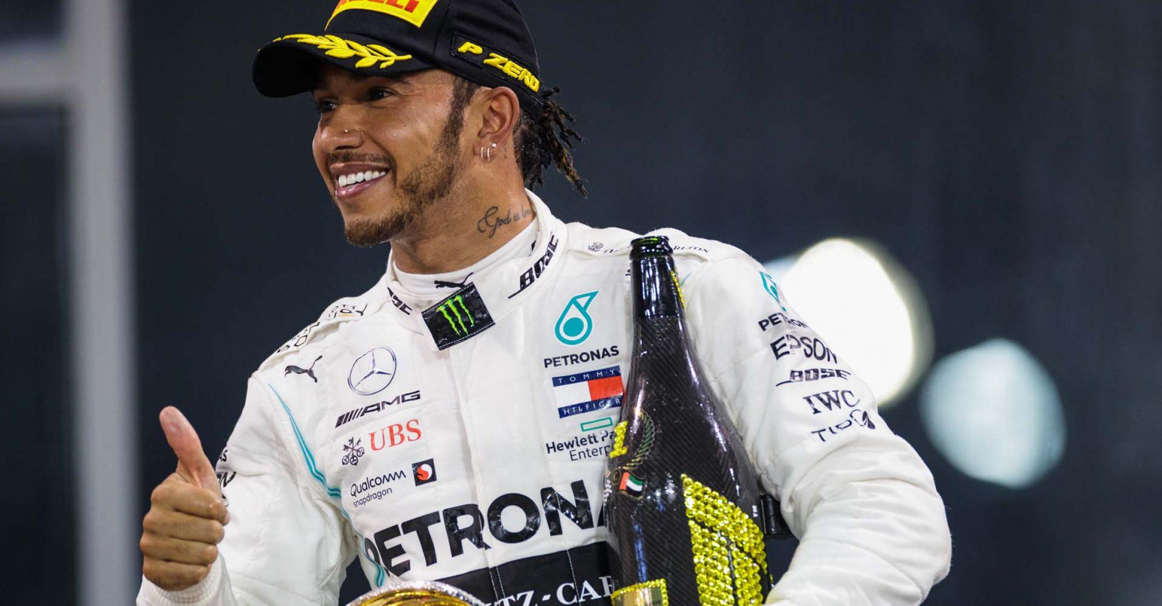 2019 Abu Dhabi Grand Prix, Sunday - LAT Images Lewis Hamilton Mercedes
