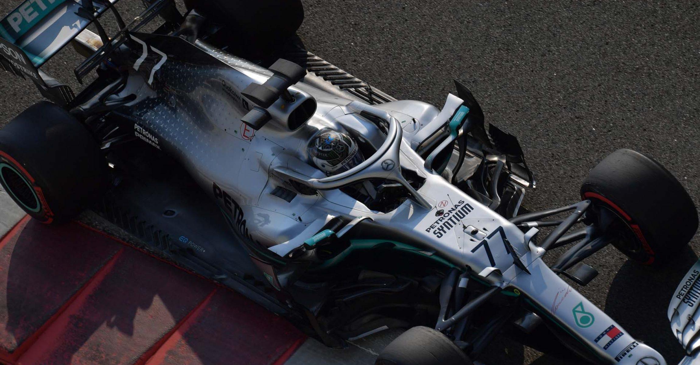 2019 Abu Dhabi Test, Day 1 - LAT Images Valtteri Bottas Mercedes