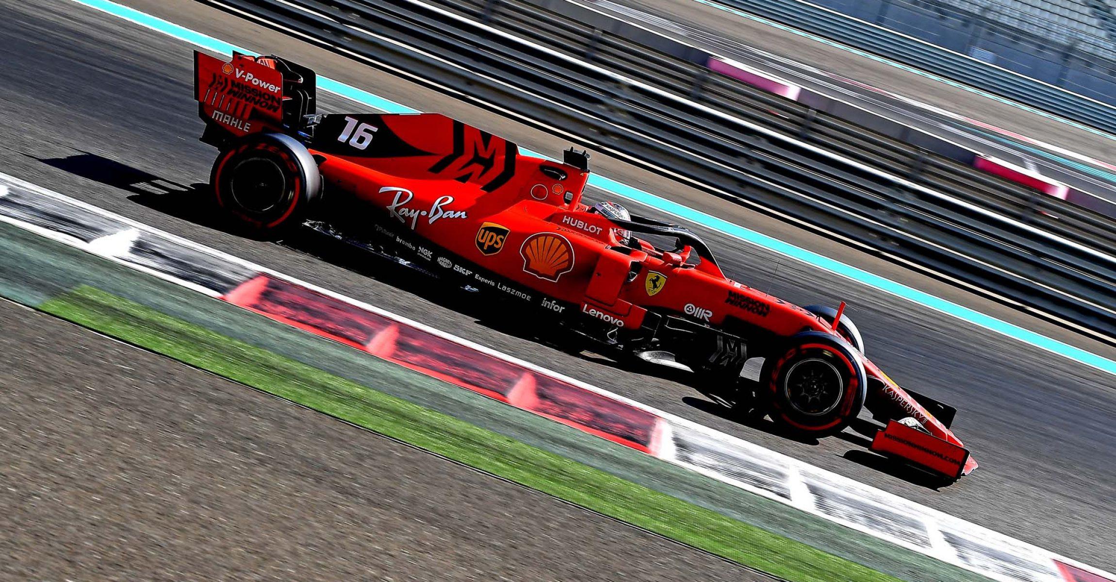 TEST T5 ABU DHABI 2019 - MERCOLEDÌ 04/12/2019 credit: @Scuderia Ferrari Press Office Charles Leclerc