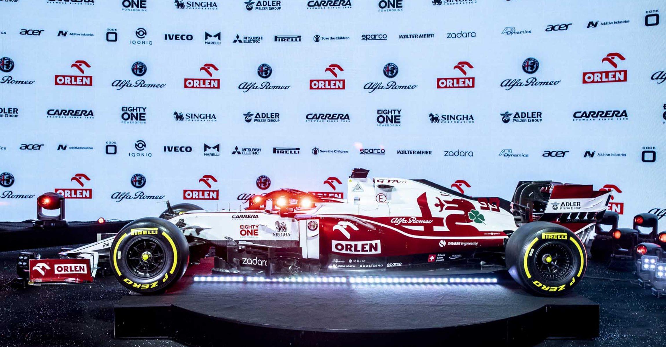 Alfa Romeo C41 launch