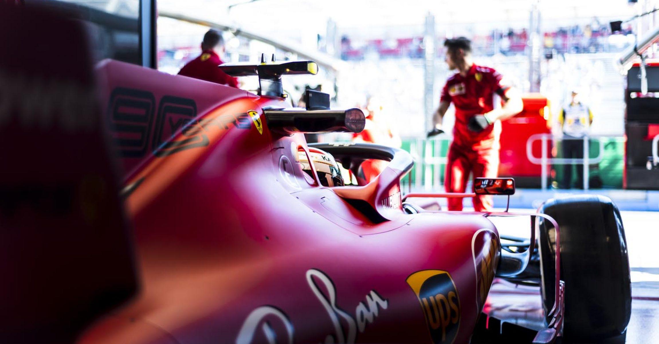 Ferrari, Melbourne, Charles Leclerc