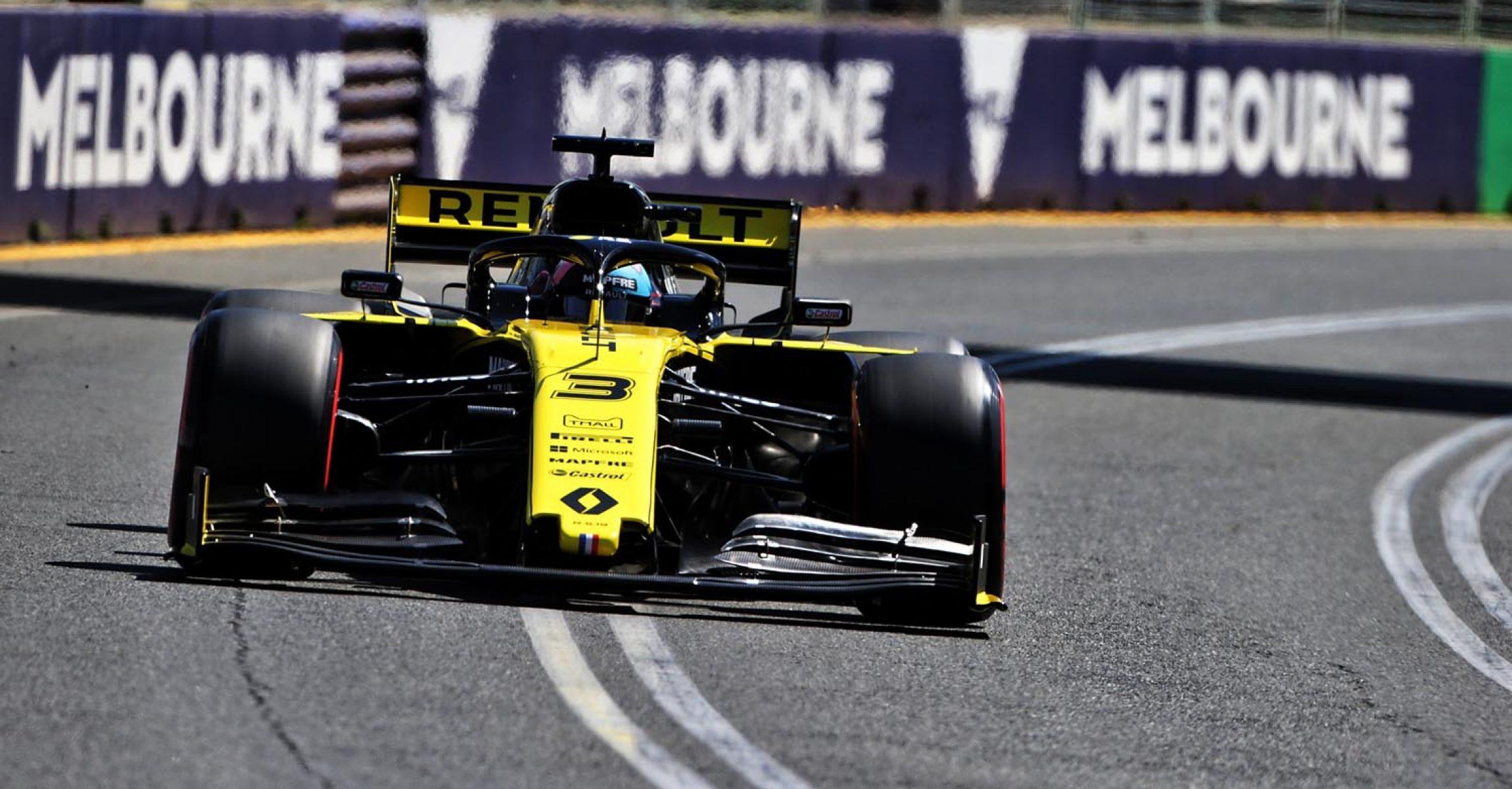 Daniel Ricciardo (AUS) Renault F1 Team RS19. Australian Grand Prix, Friday 15th March 2019. Albert Park, Melbourne, Australia.