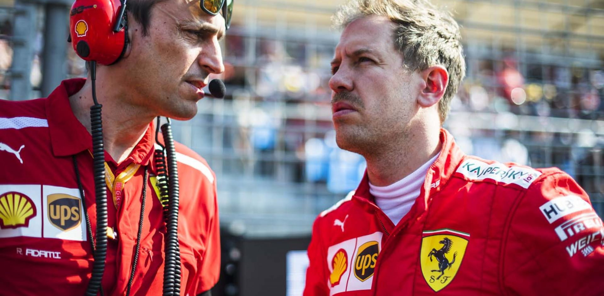 Sebastian Vettel, Ferrari, Melbourne