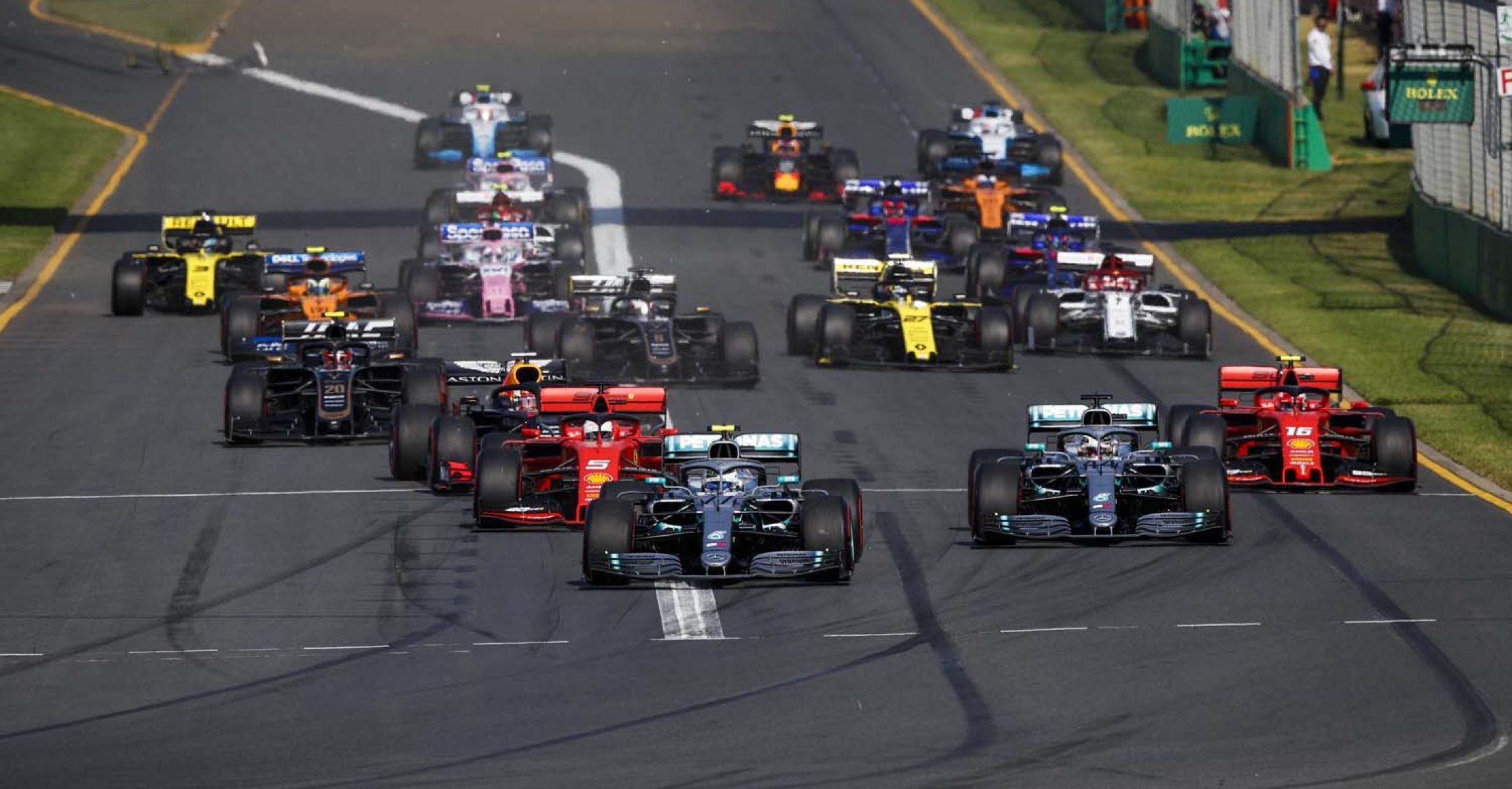2019 Australian Grand Prix, Sunday - Wolfgang Wilhelm Melbourne, start,