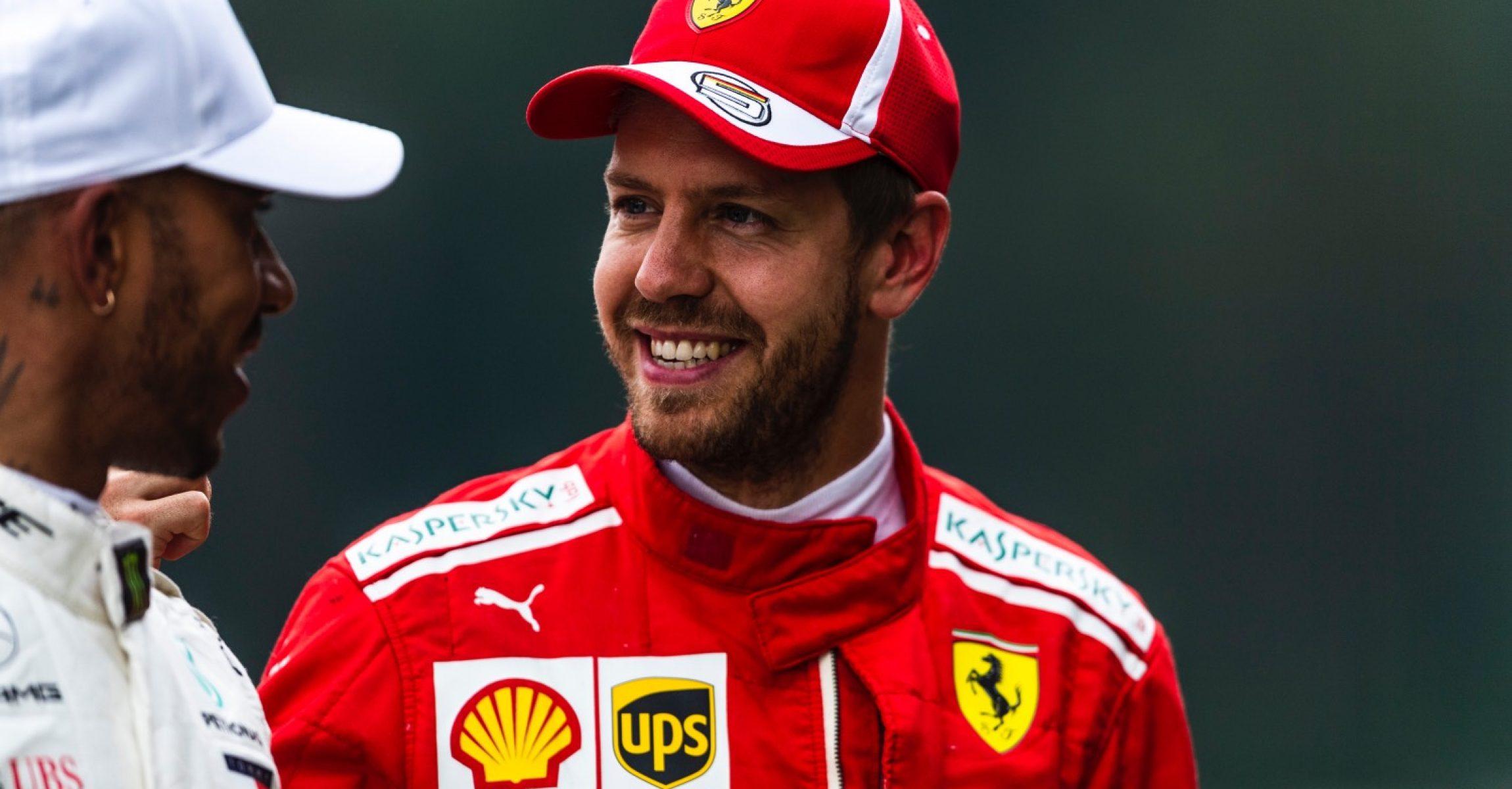 Lewis Hamilton, Sebastian Vettel, Ferrari, Austrian GP 2018