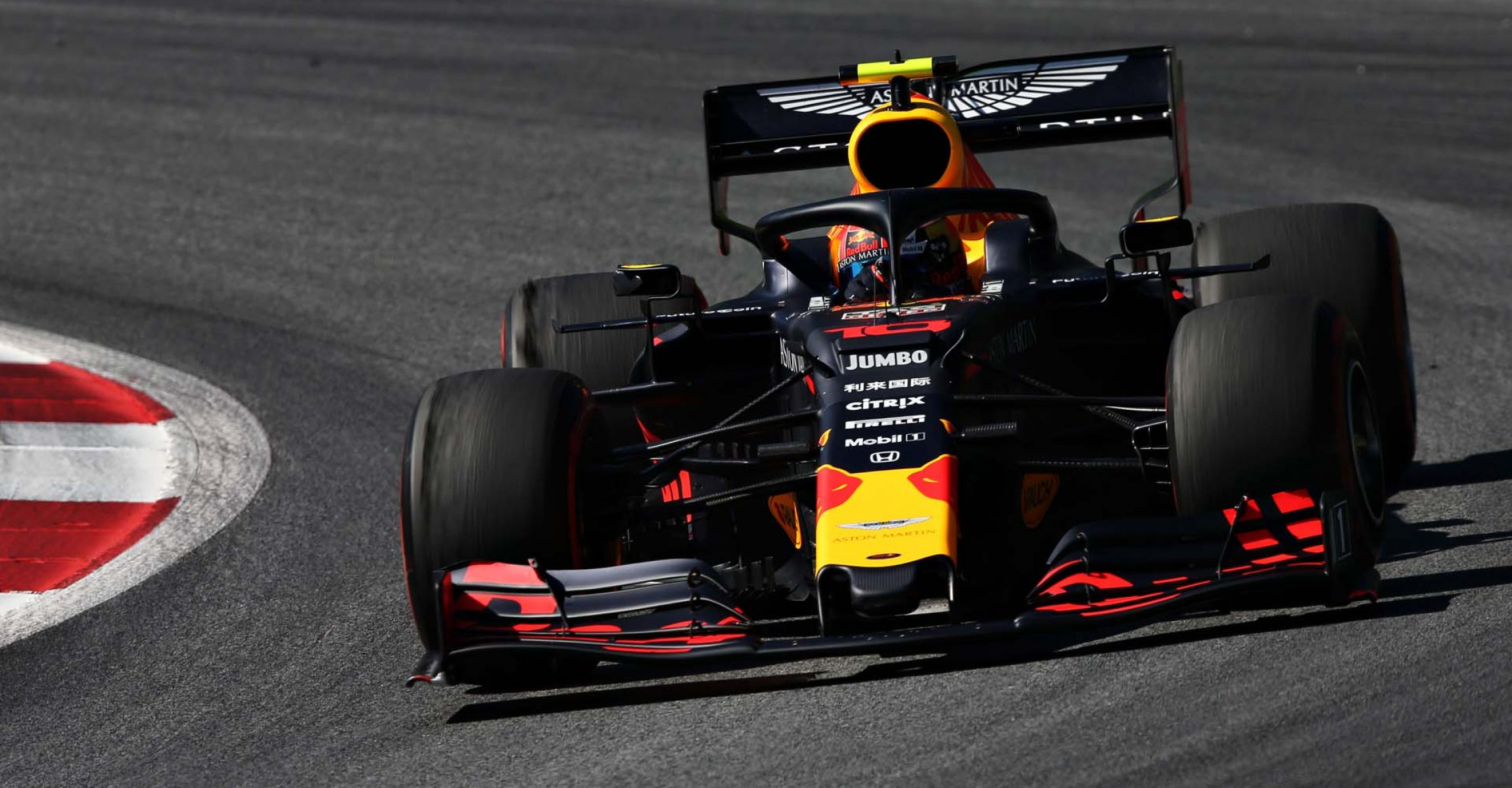 SPIELBERG, AUSTRIA - JUNE 28: Pierre Gasly of France driving the (10) Aston Martin Red Bull Racing RB15 on track during practice for the F1 Grand Prix of Austria at Red Bull Ring on June 28, 2019 in Spielberg, Austria. (Photo by Charles Coates/Getty Images) // Getty Images / Red Bull Content Pool // AP-1ZSMXRUUH2111 // Usage for editorial use only // Please go to www.redbullcontentpool.com for further information. //
