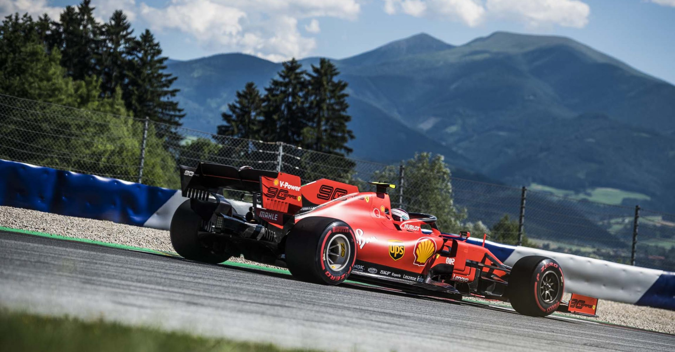 Charles Leclerc races at the FIA Formula One World Championship 2019 in Spielberg, Austria on June 28, 2019 // Philip Platzer/Red Bull Content Pool // AP-1ZSNR2JD91W11 // Usage for editorial use only // Please go to www.redbullcontentpool.com for further information. //
