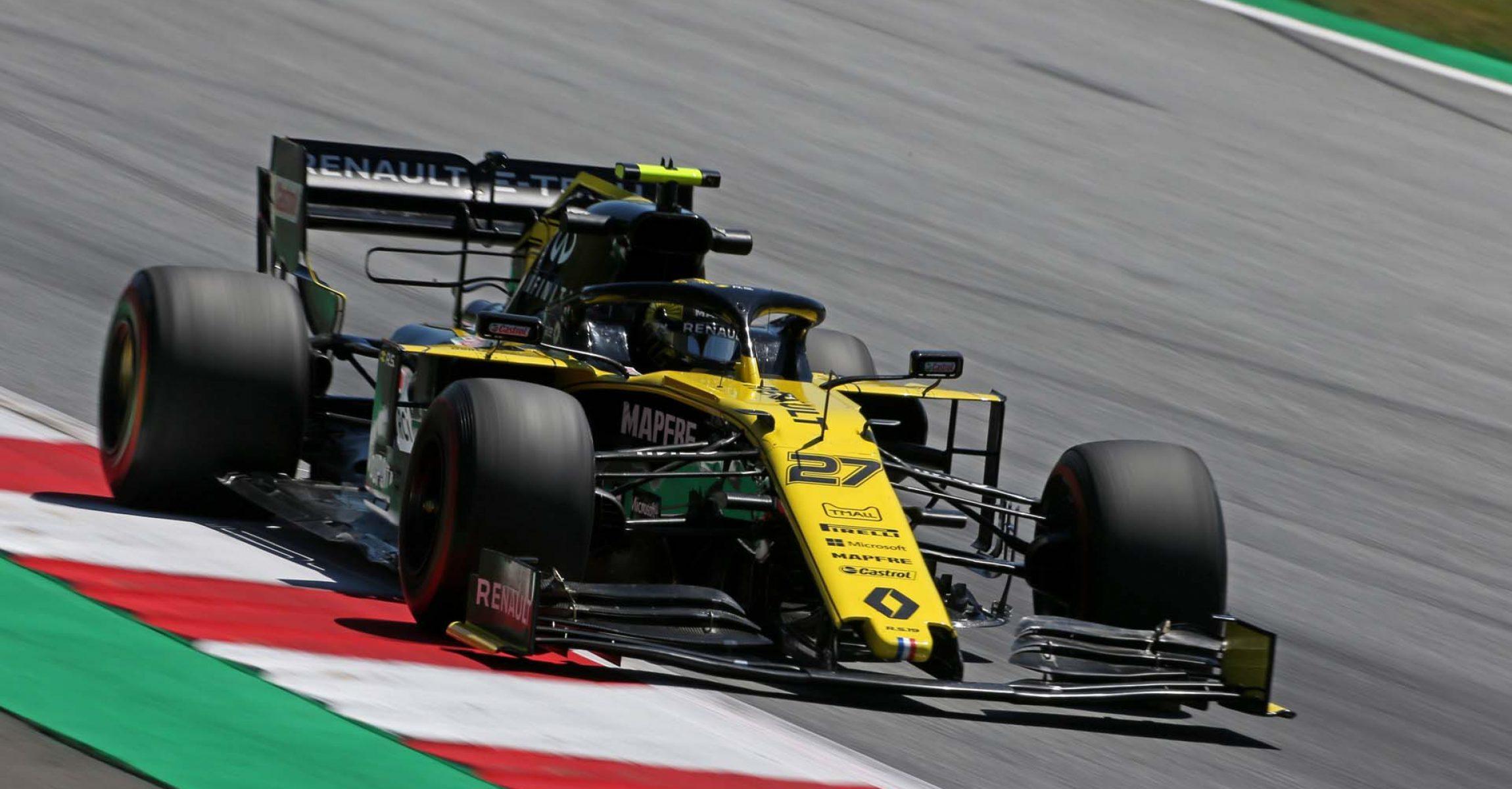 Nico Hulkenberg (GER) Renault F1 Team RS19. Hülkenberg Austrian Grand Prix, Friday 28th June 2019. Spielberg, Austria.
