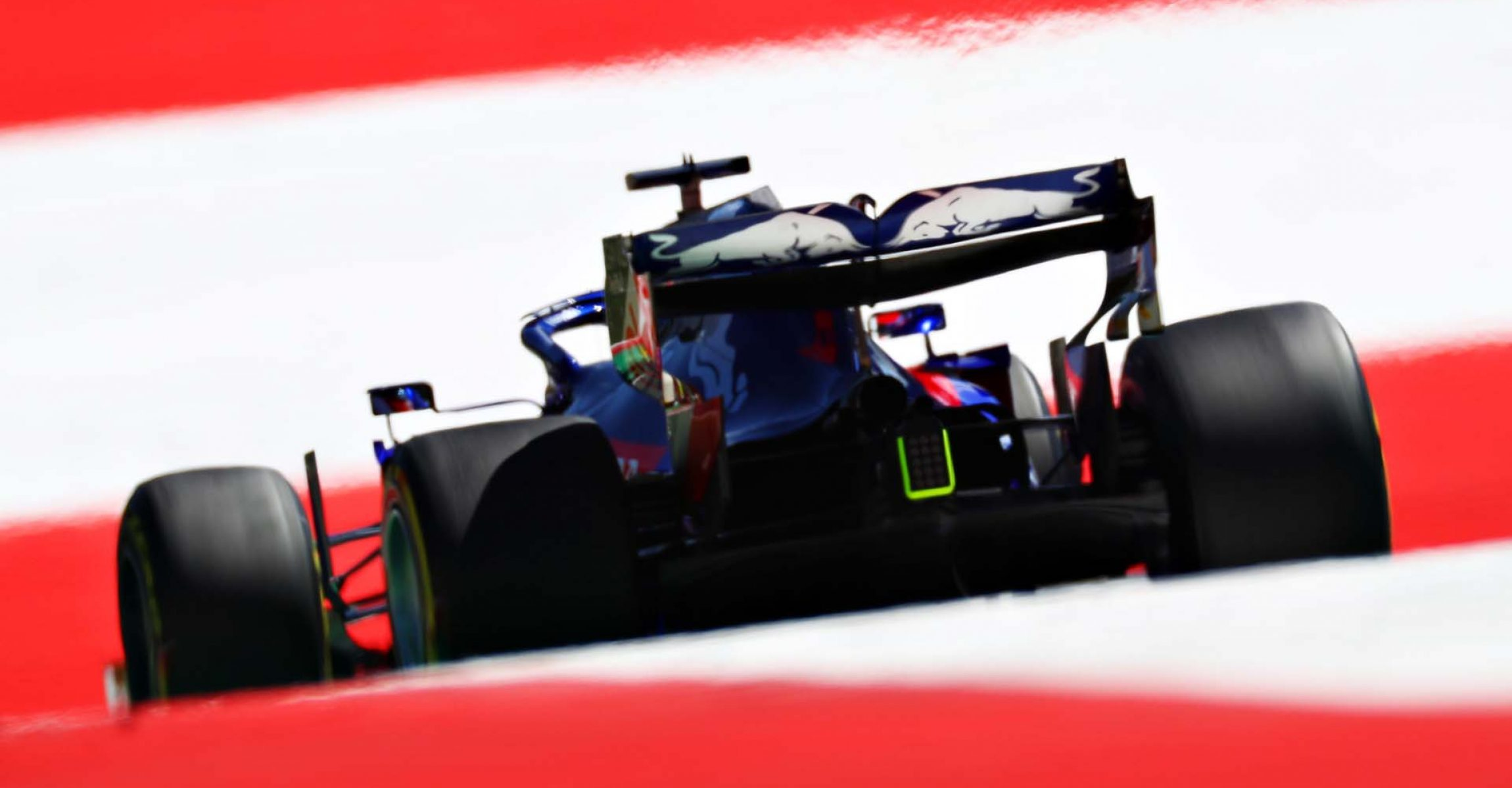 SPIELBERG, AUSTRIA - JUNE 28: Daniil Kvyat driving the (26) Scuderia Toro Rosso STR14 Honda on track during practice for the F1 Grand Prix of Austria at Red Bull Ring on June 28, 2019 in Spielberg, Austria. (Photo by Mark Thompson/Getty Images) // Getty Images / Red Bull Content Pool  // AP-1ZSMMMKMD2111 // Usage for editorial use only // Please go to www.redbullcontentpool.com for further information. //