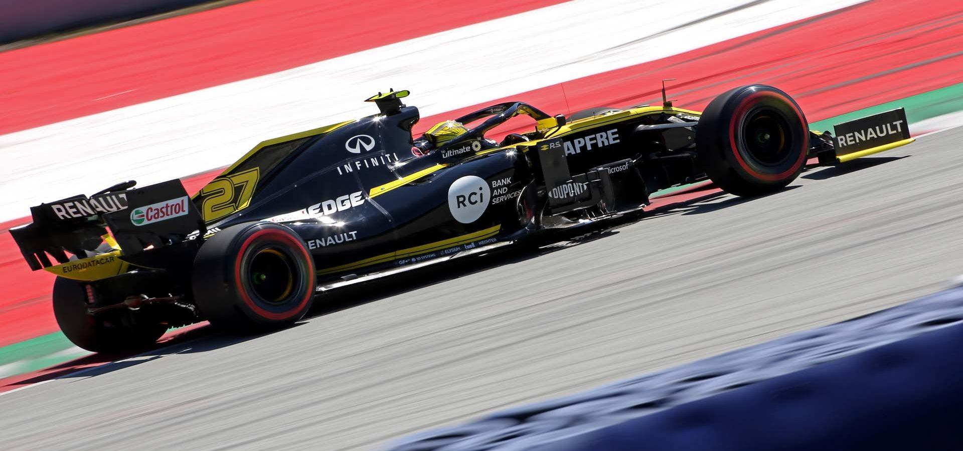 Nico Hulkenberg Hülkenberg (GER) Renault F1 Team RS19. Austrian Grand Prix, Saturday 29th June 2019. Spielberg, Austria.