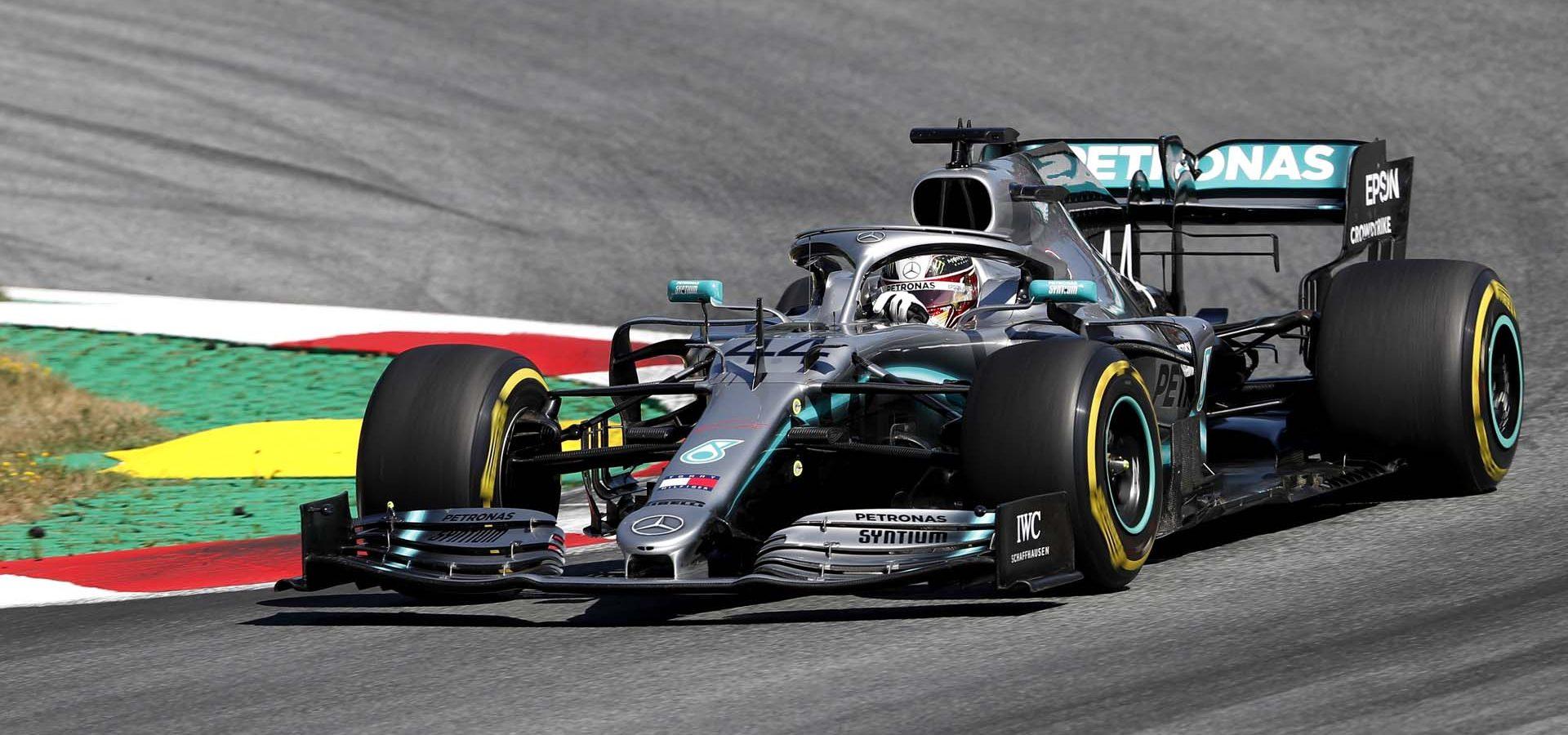 2019 Austrian Grand Prix, Sunday - LAT Images Lewis Hamilton Mercedes