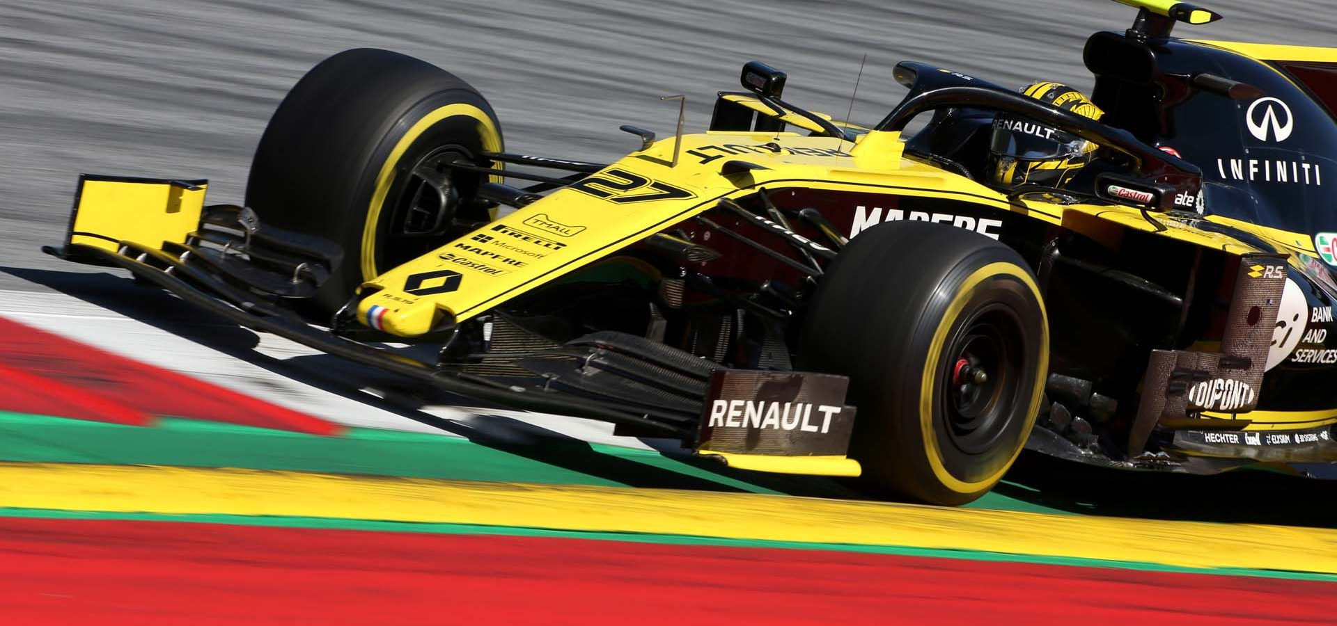 Nico Hulkenberg (GER) Renault F1 Team RS19. Austrian Grand Prix, Sunday 30th June 2019. Spielberg, Austria. Hülkenberg