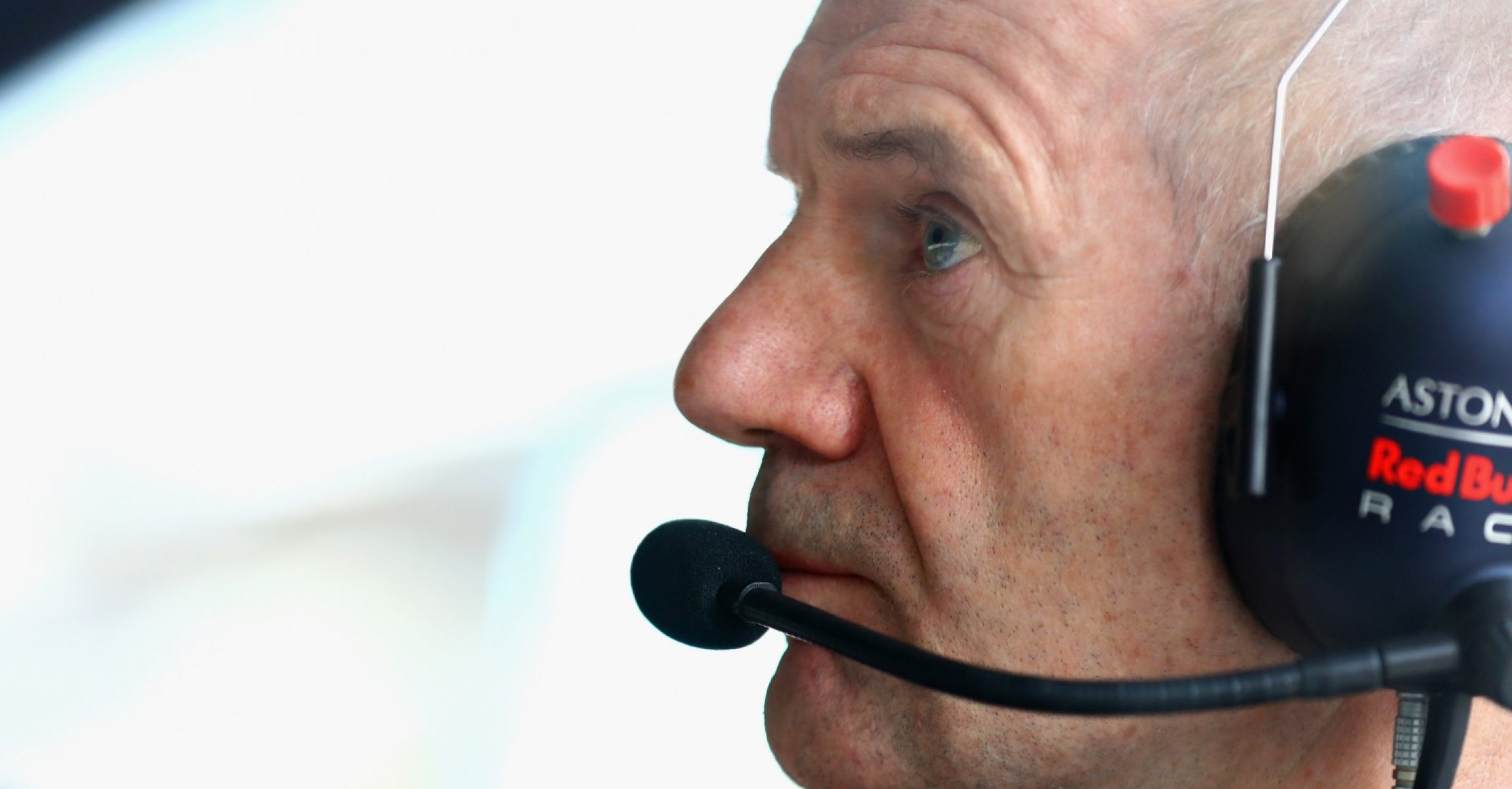 BAKU, AZERBAIJAN - APRIL 28: Adrian Newey, the Chief Technical Officer of Red Bull Racing looks on during qualifying for the Azerbaijan Formula One Grand Prix at Baku City Circuit on April 28, 2018 in Baku, Azerbaijan.  (Photo by Mark Thompson/Getty Images)