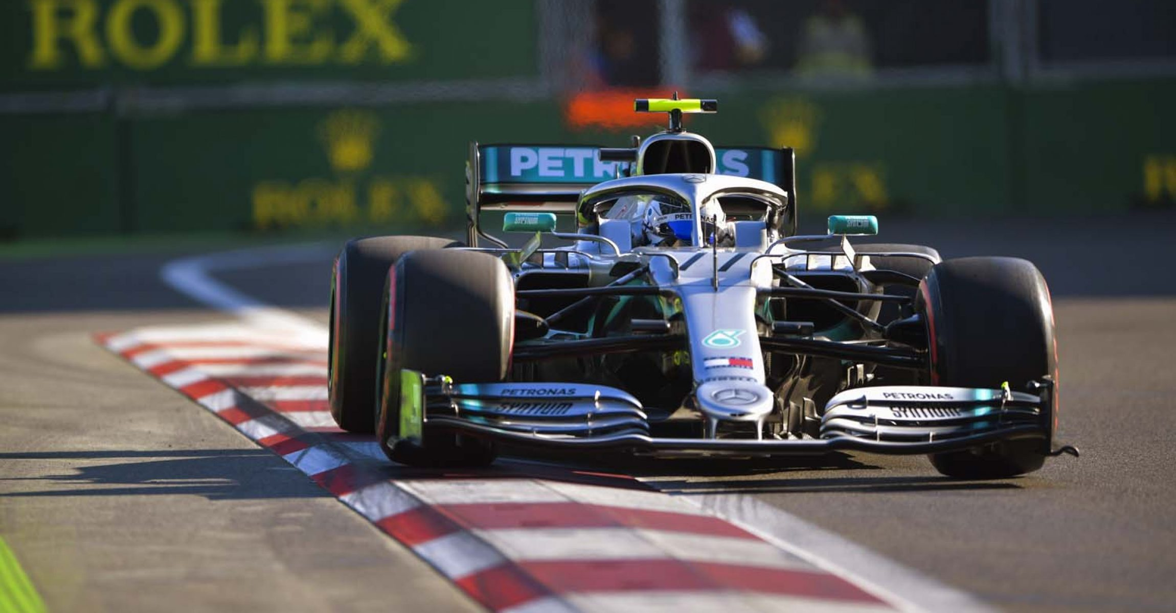 2019 Azerbaijan Grand Prix, Saturday - LAT Images Valtteri Bottas Mercedes Baku