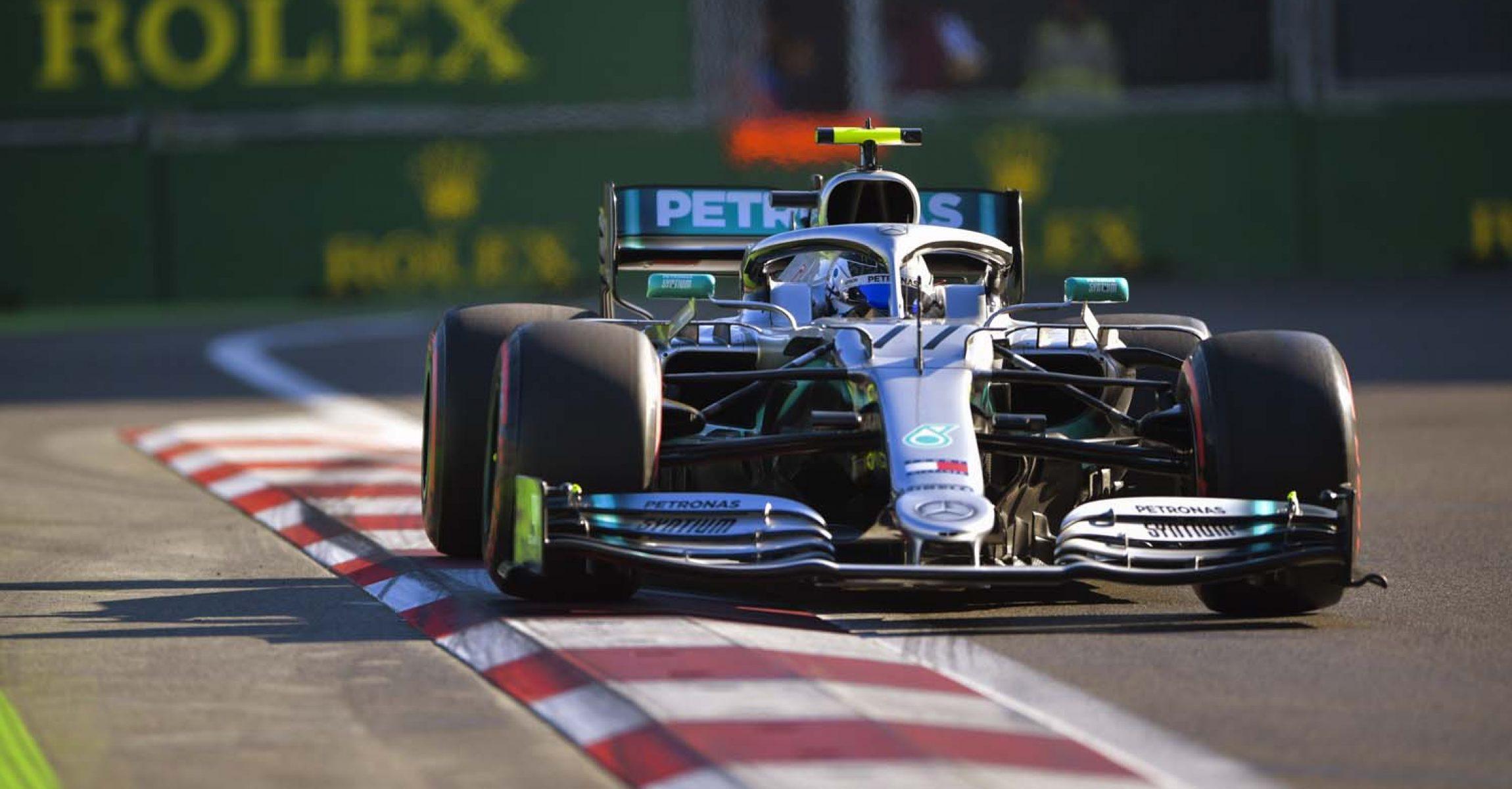 2019 Azerbaijan Grand Prix, Saturday - LAT Images Valtteri Bottas Mercedes Baku