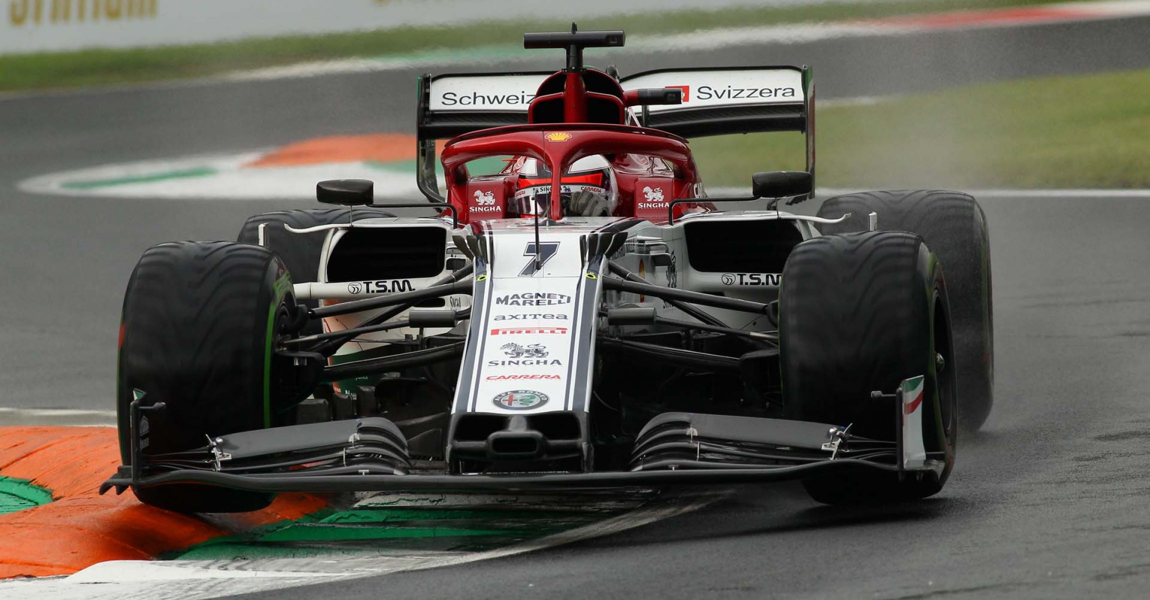 Italian Grand Prix 2019, Monza, Friday, Kimi Räikkönen, Alfa Romeo
