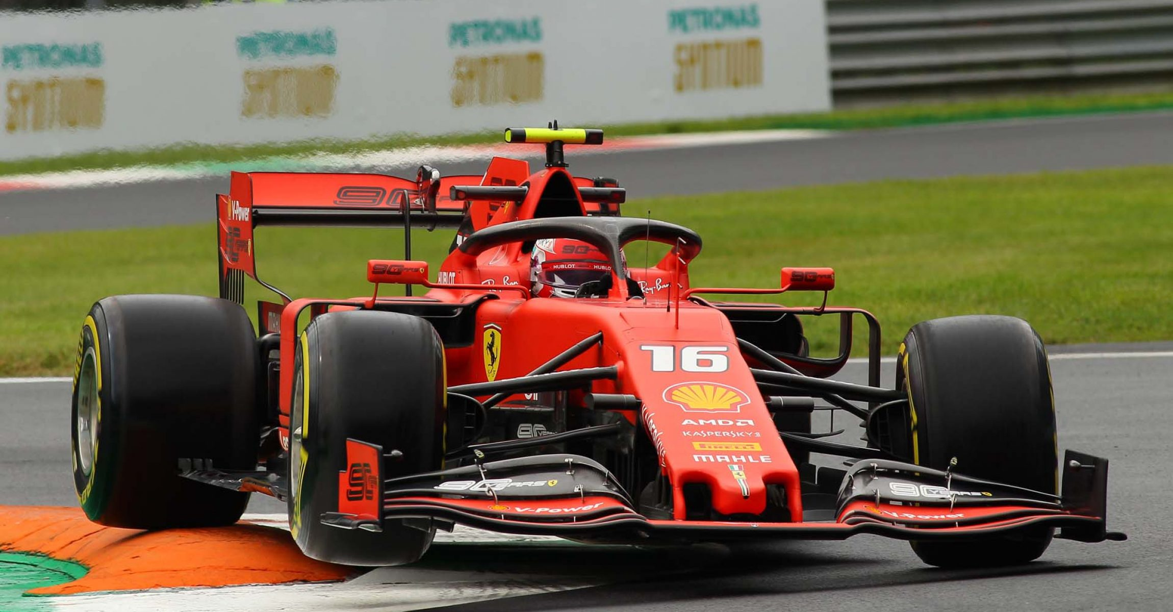 Italian Grand Prix 2019, Monza, Friday, Charles Leclerc, Ferrari